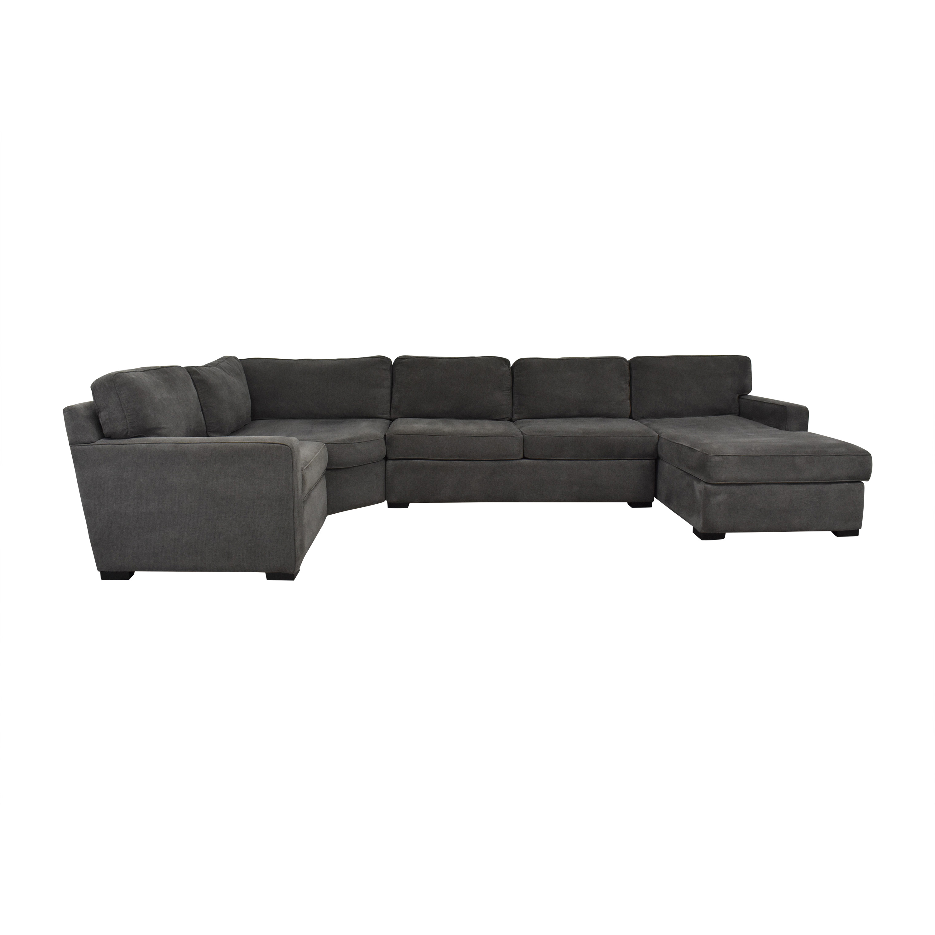 Macy's Macy's Radley Sectional Sofa with Chaise discount
