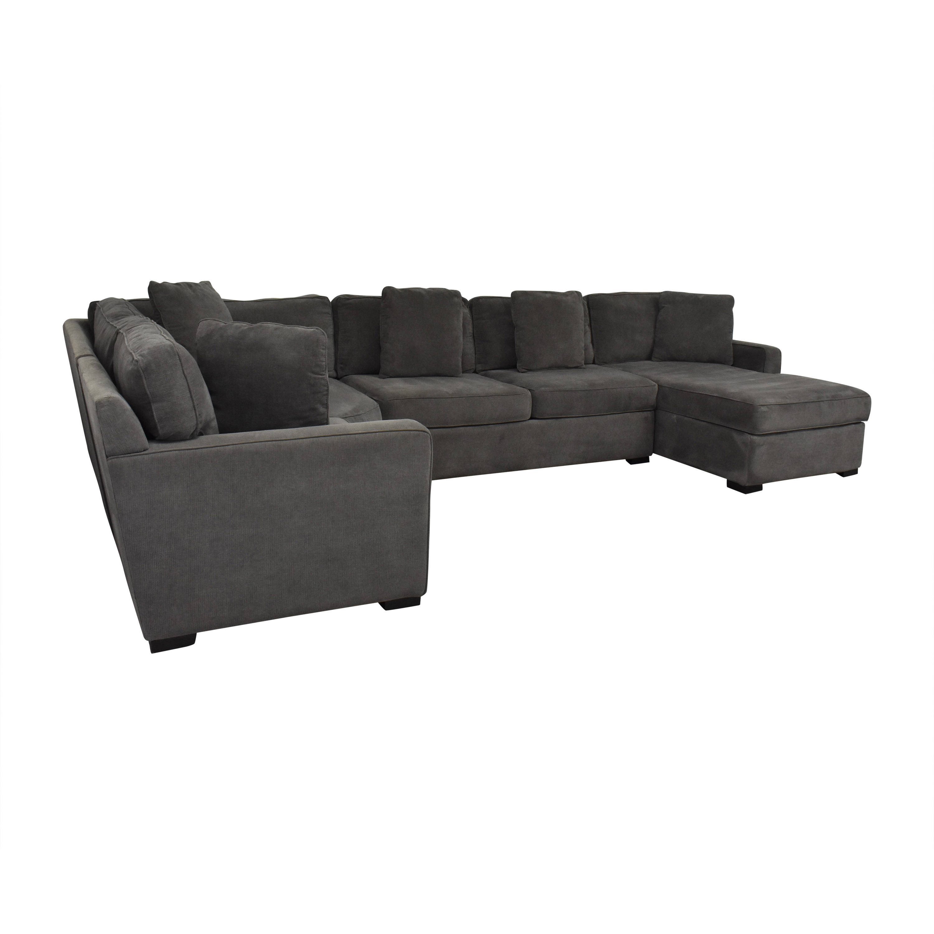 Macy's Macy's Radley Sectional Sofa with Chaise coupon