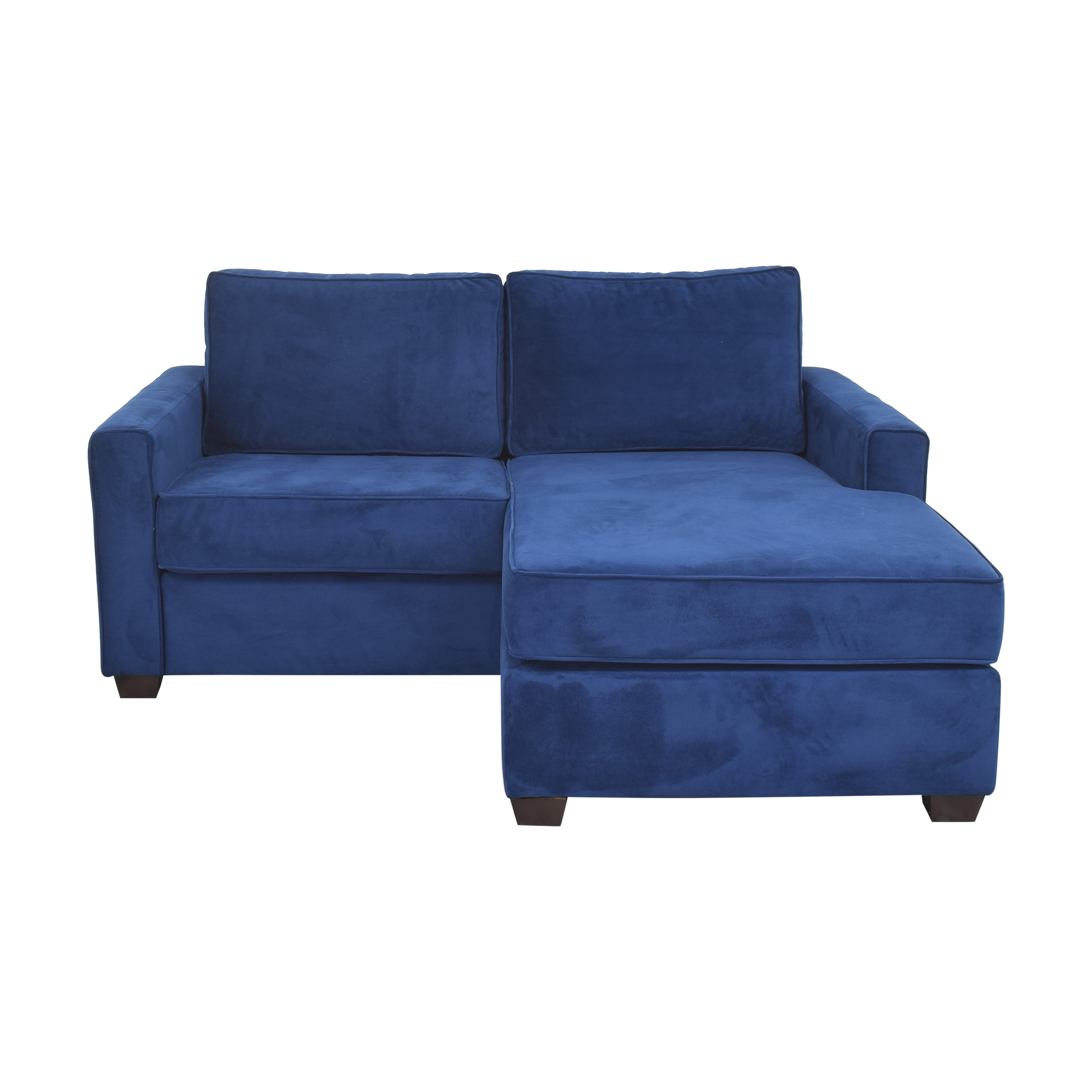 Pottery Barn Pottery Barn SoMa Fremont Square Arm Upholstered Sofa with Reversible Chaise Sectional nyc