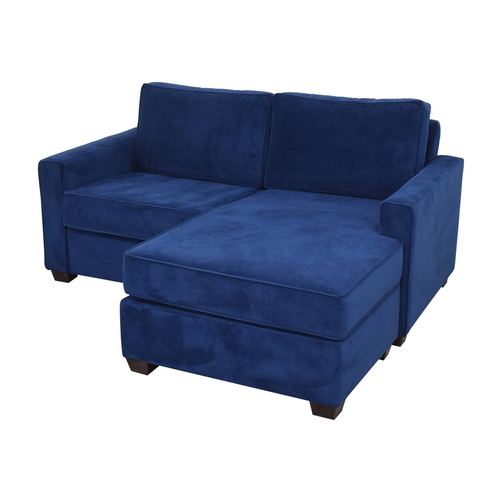 Pottery Barn Pottery Barn SoMa Fremont Square Arm Upholstered Sofa with Reversible Chaise Sectional pa