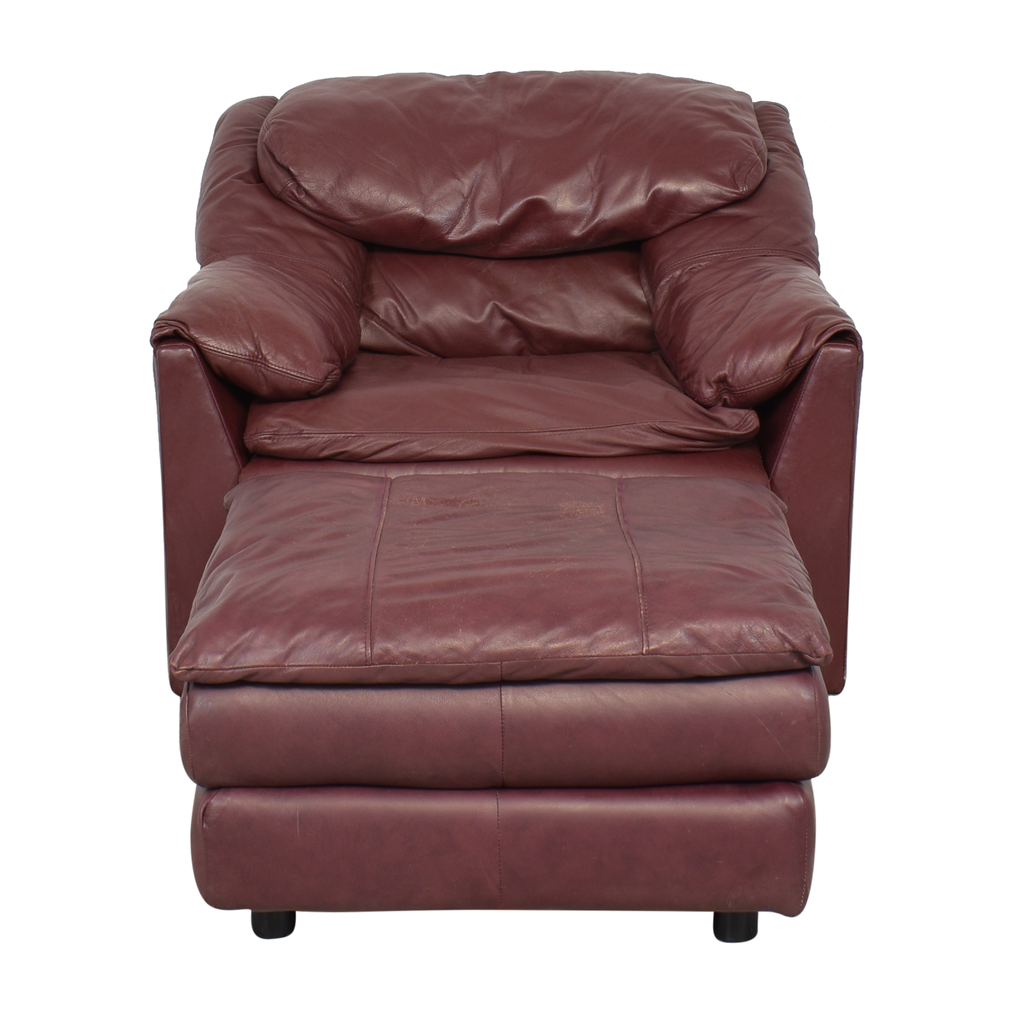 shop Pillow Arm Lounge Chair and Ottoman  Chairs
