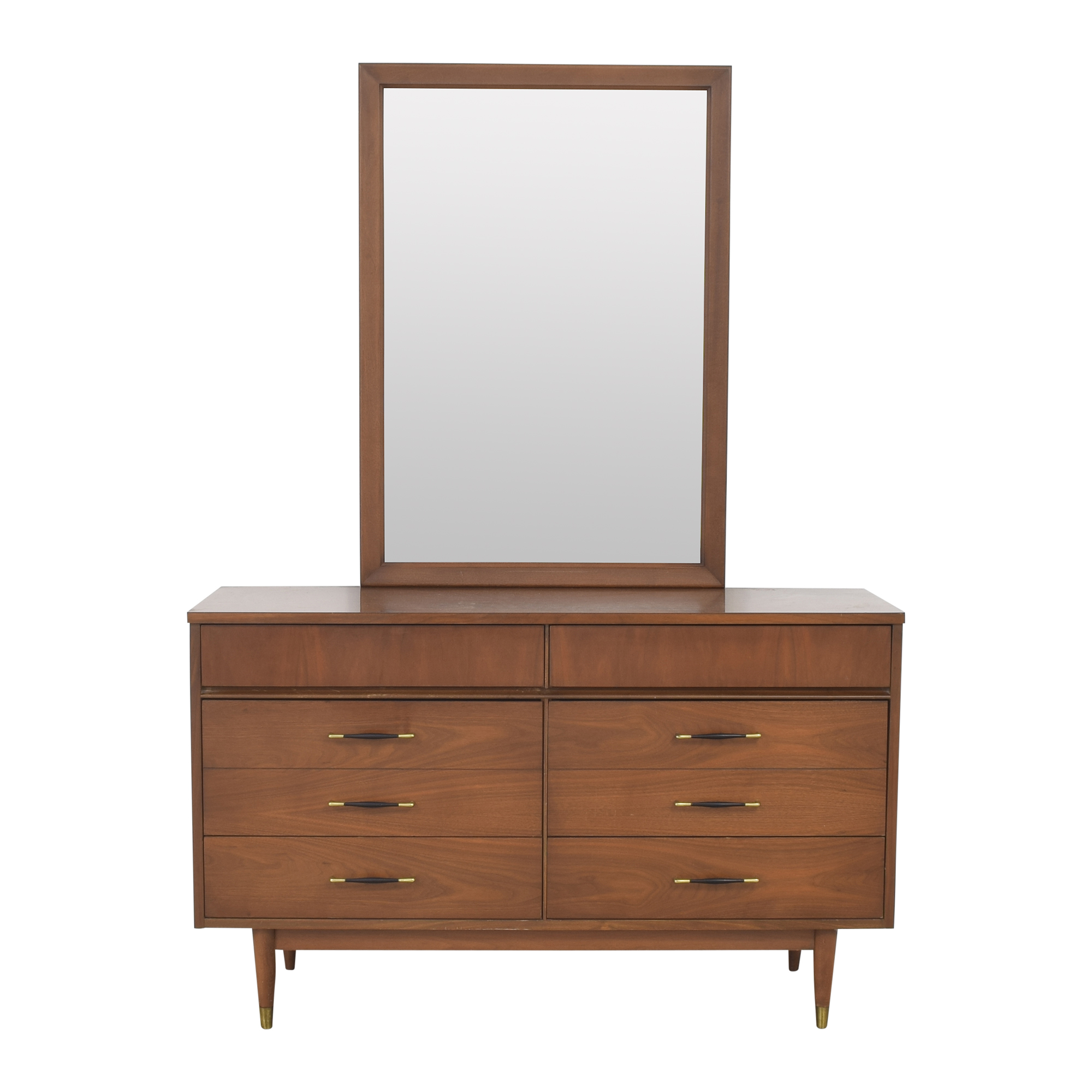 Mid Century Dresser with Mirror for sale