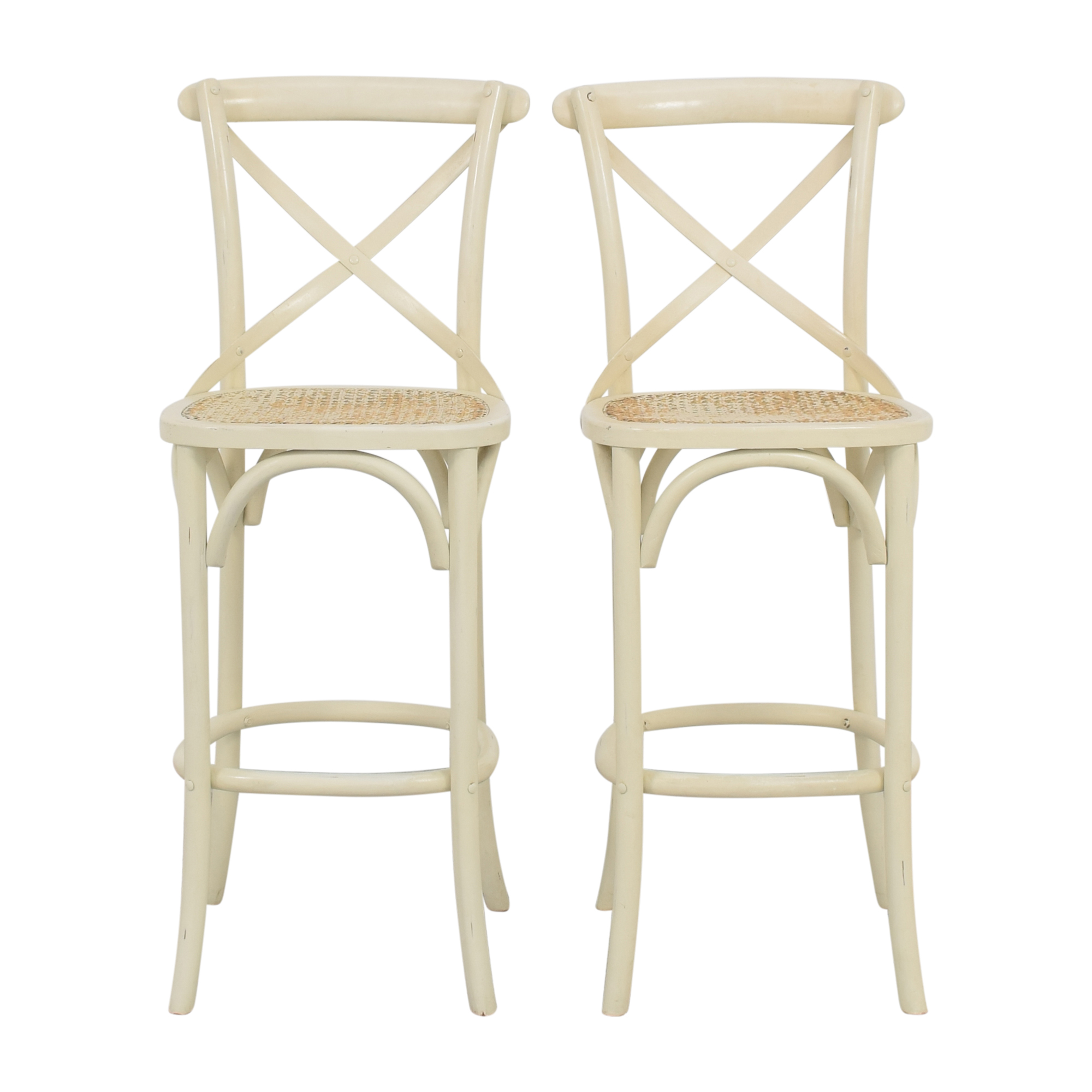 Restoration Hardware Restoration Hardware Hightop Chairs used