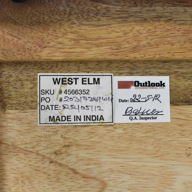West Elm West Elm Industrial Storage Coffee Table ct