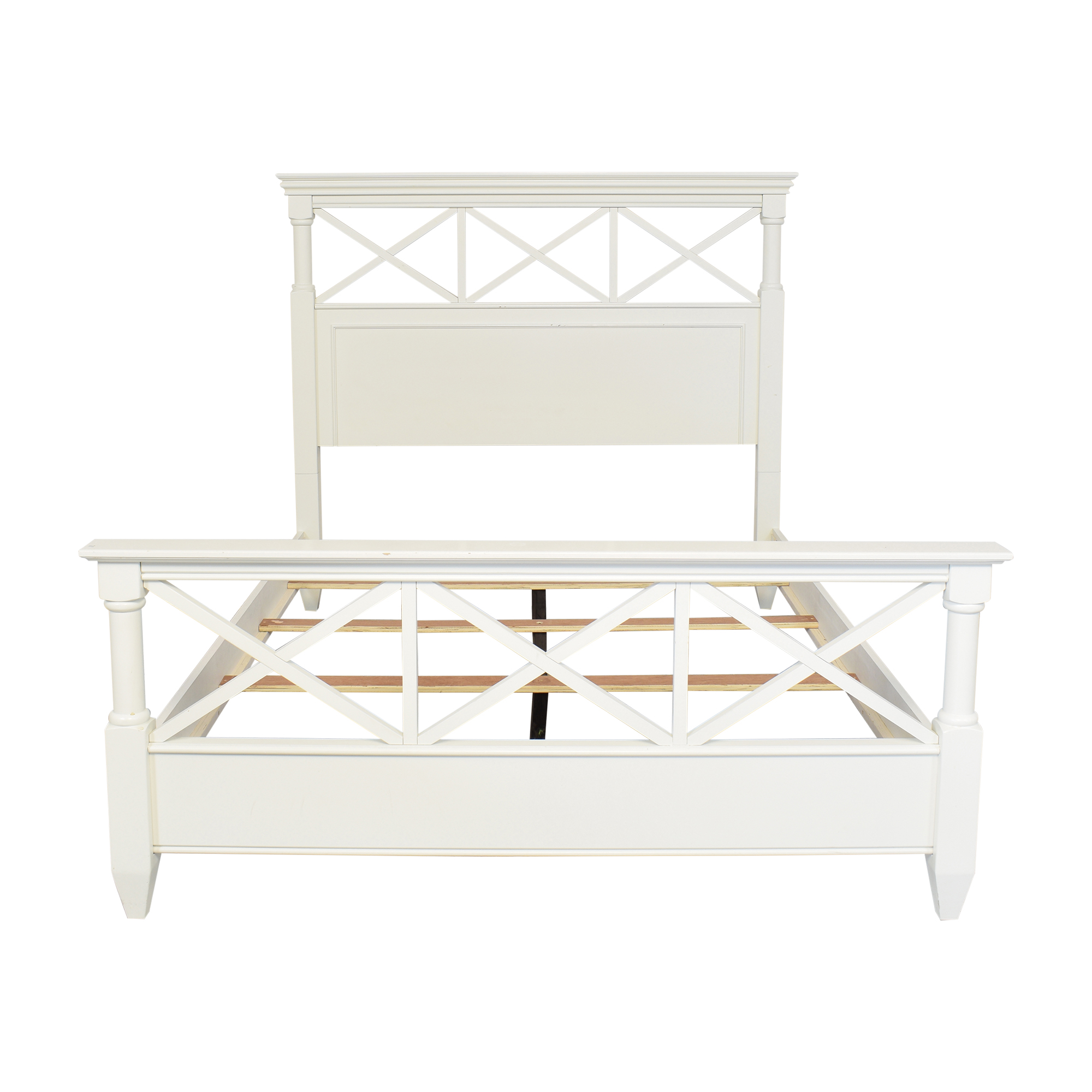 Magnussen Home Magnussen Home Queen Bed Frame dimensions