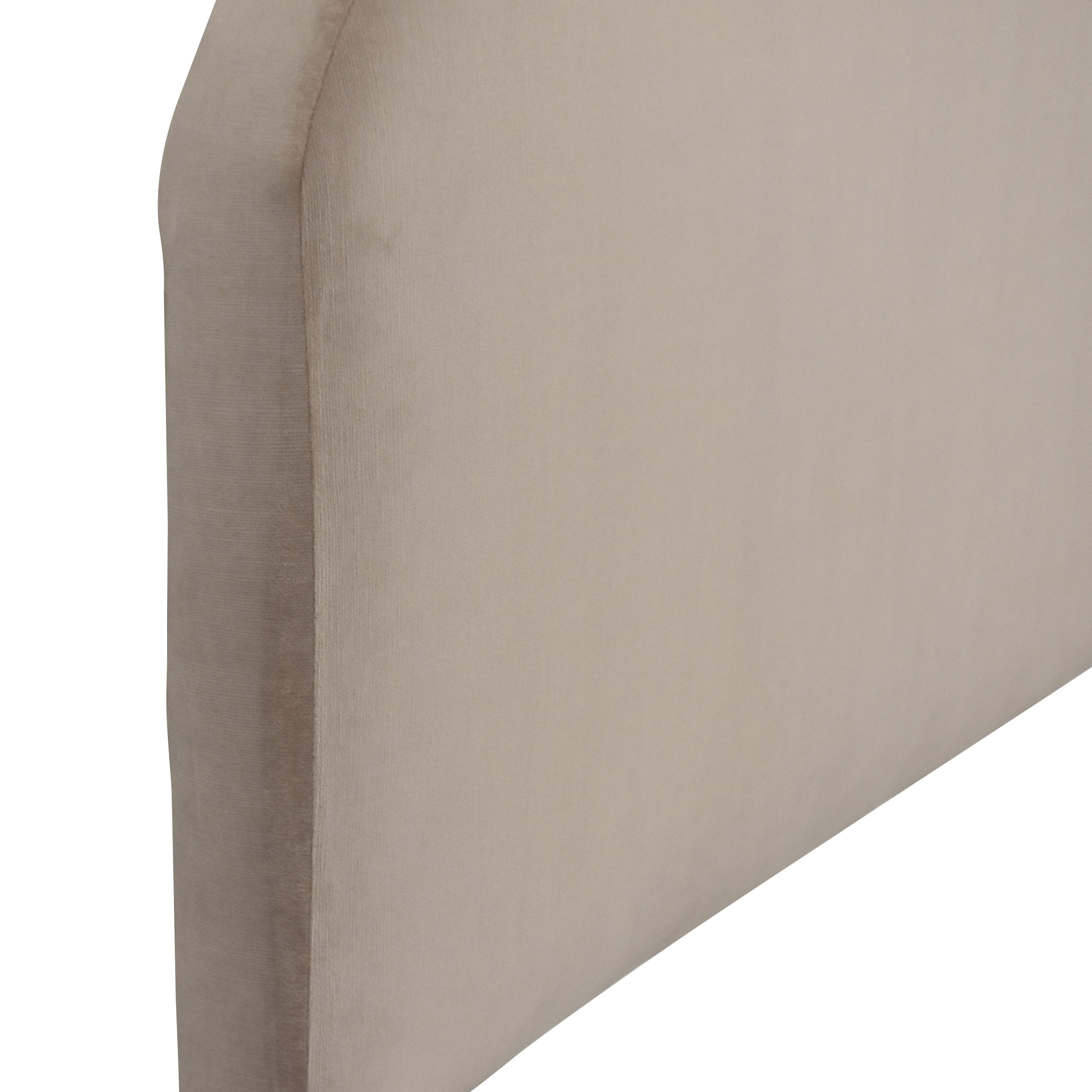buy West Elm West Elm Queen Curved Headboard online