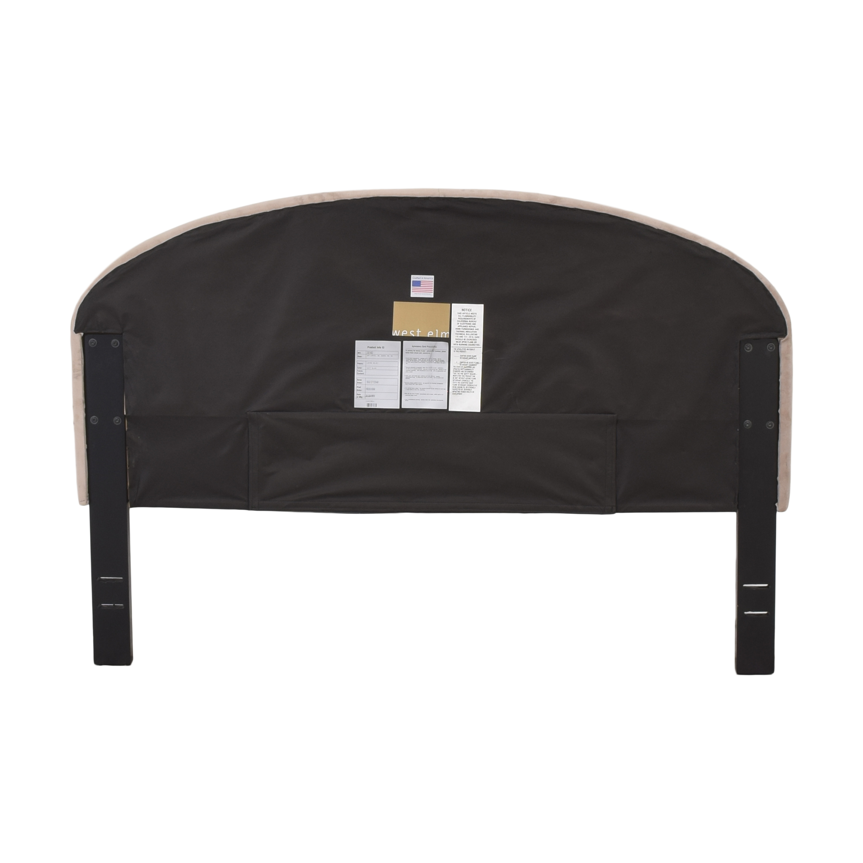 West Elm West Elm Queen Curved Headboard dimensions