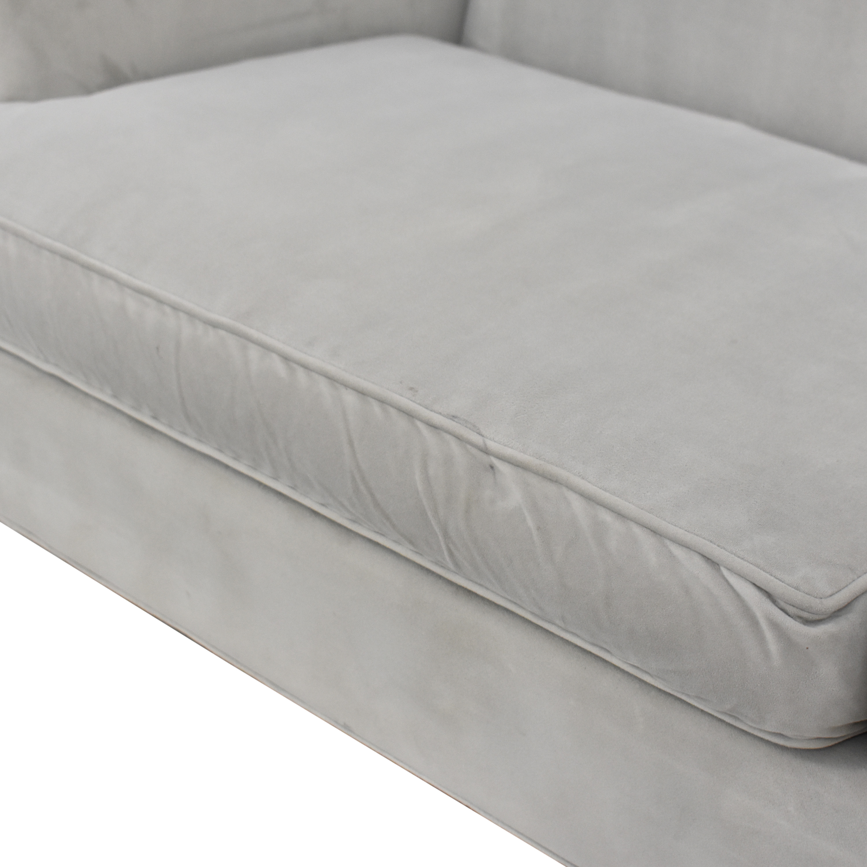 shop Room & Board Two Cushion Sofa Room & Board Sofas