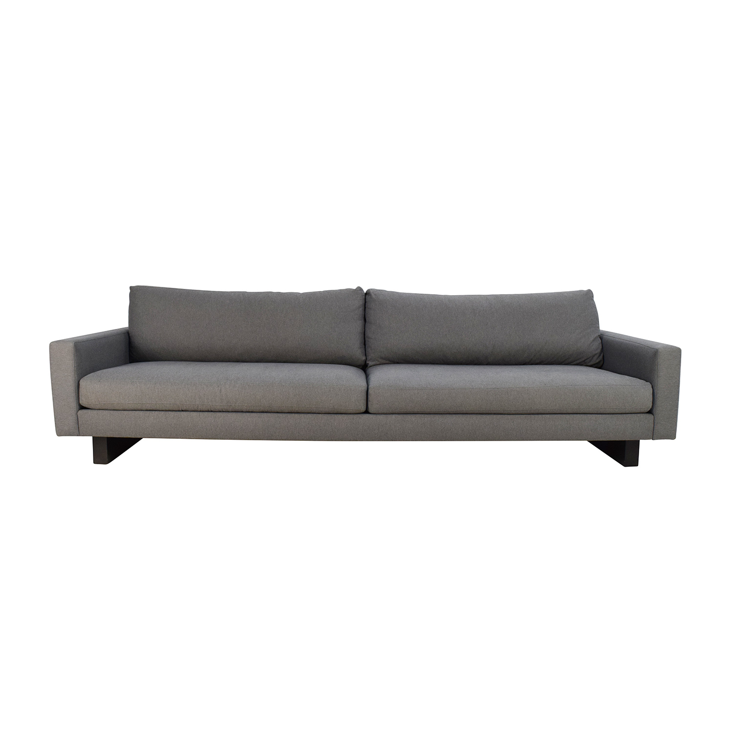 buy Room & Board Hess 102 Sofa in Petra Charcoal Room and Board Classic Sofas