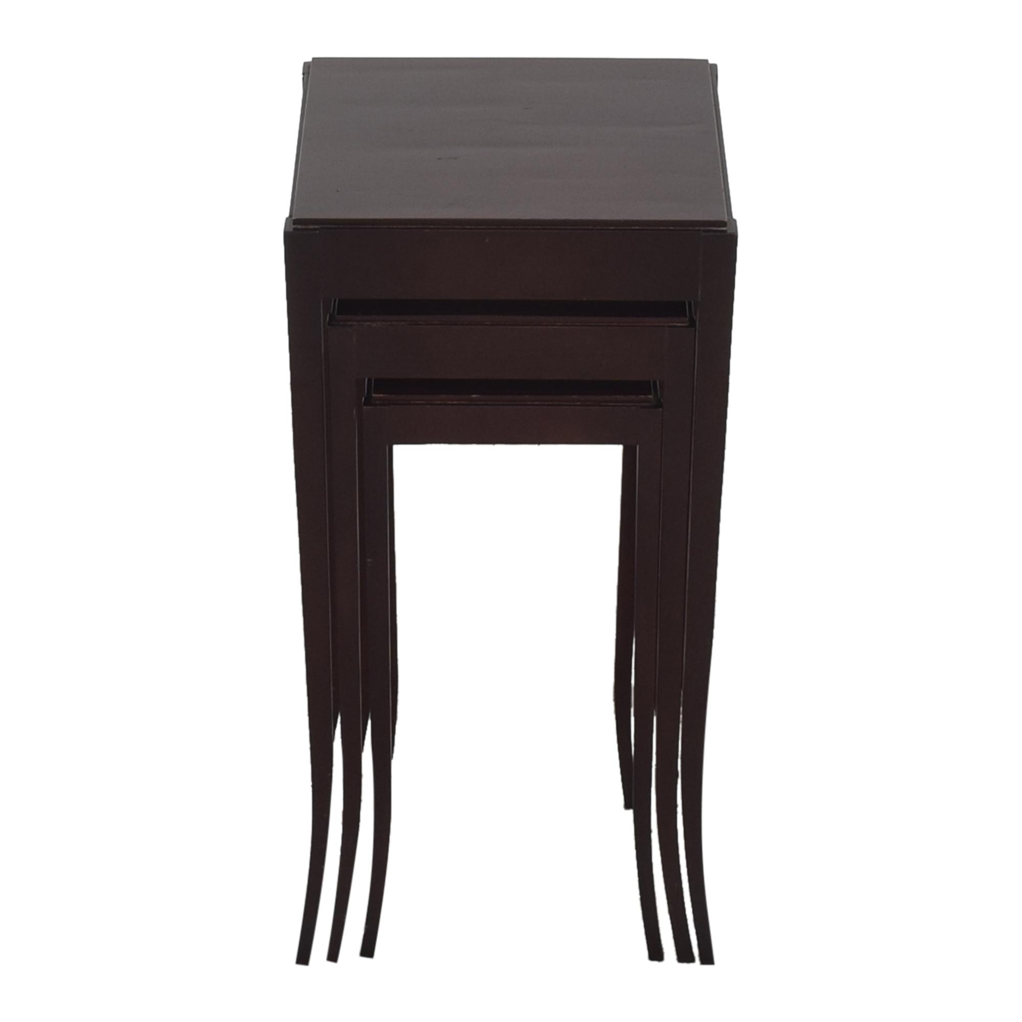 shop Baker Nesting Tables by Barbara Barry Baker Furniture Tables