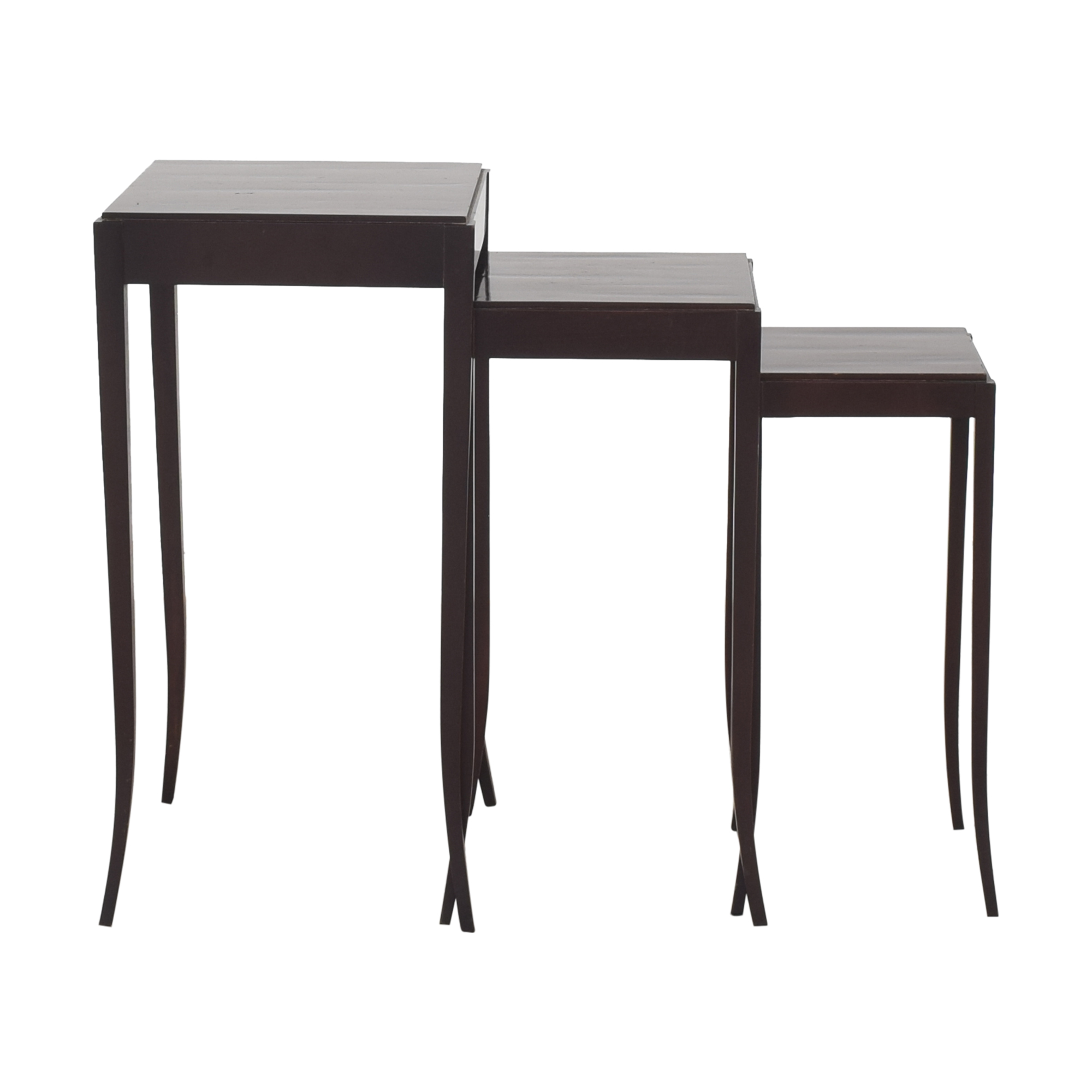 Baker Furniture Baker Nesting Tables by Barbara Barry ma