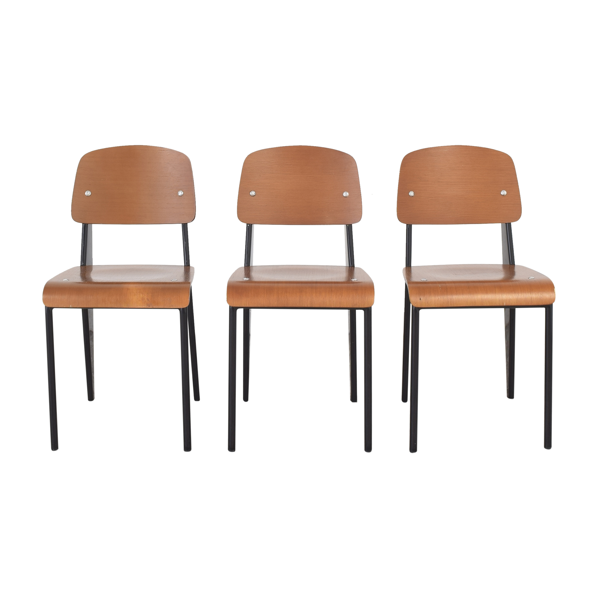 Jean Prouve-Style Chairs used