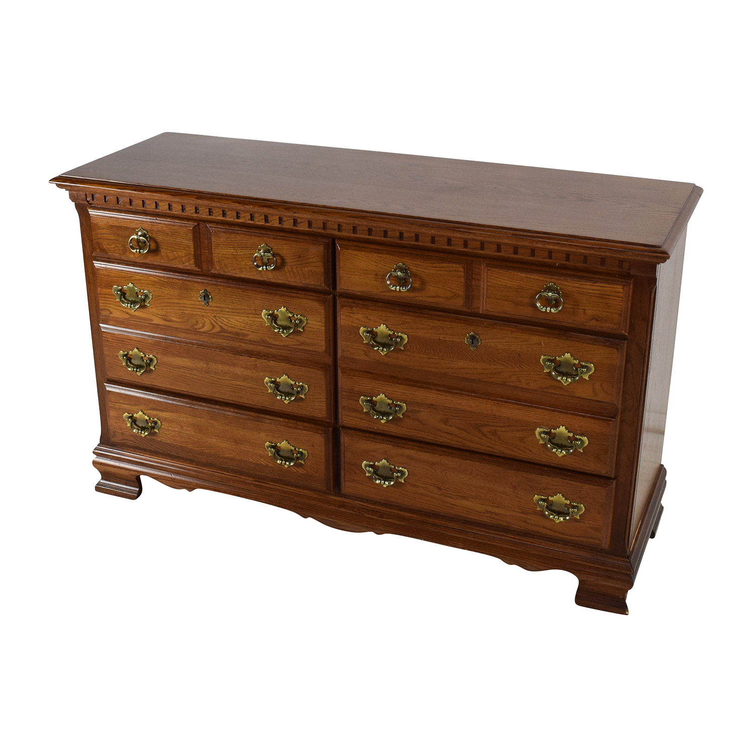Wood Table Dresser ~ Off kincaid furniture solid wood