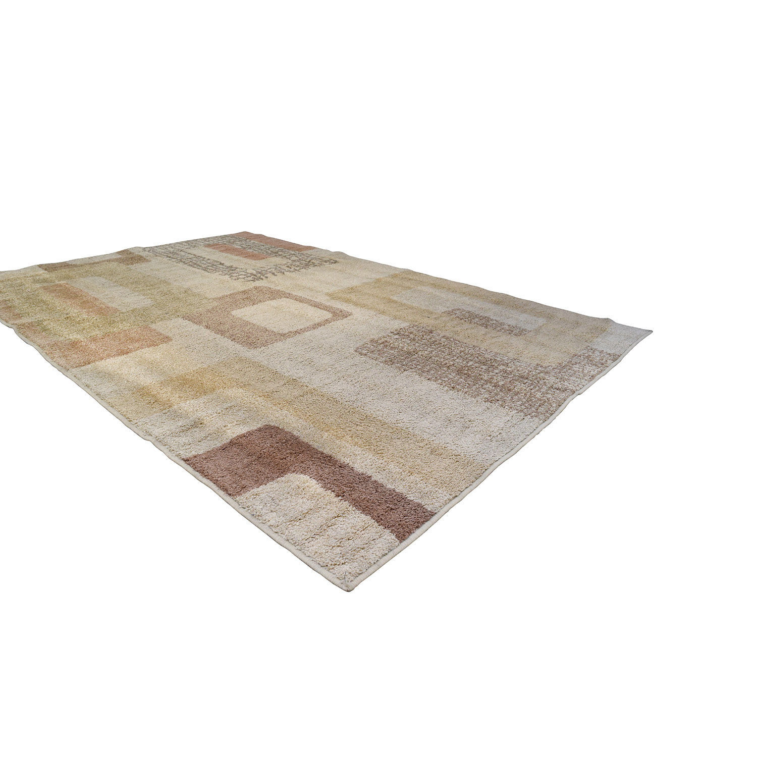 Raymour and Flanigan Raymour & Flanigan Beige Pattern Rug Decor