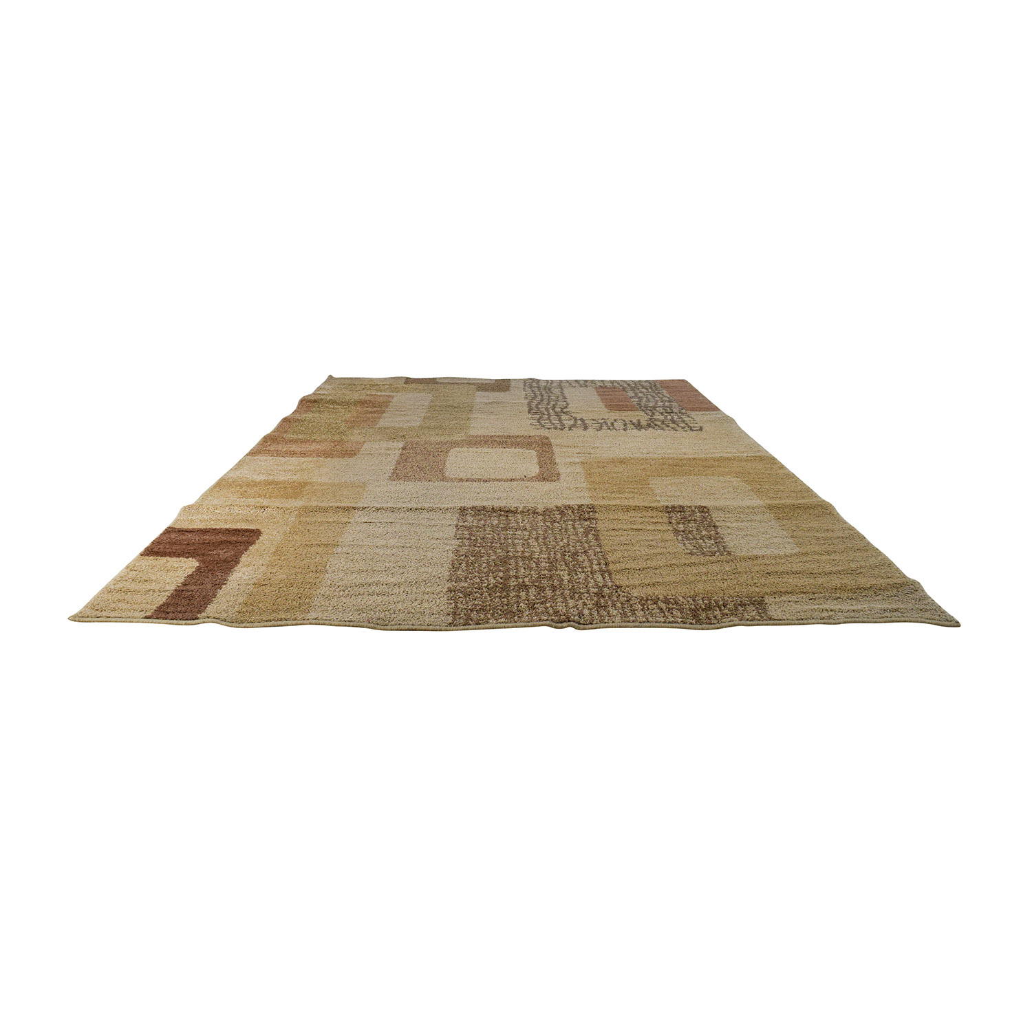 Raymour and Flanigan Raymour & Flanigan Beige Pattern Rug second hand