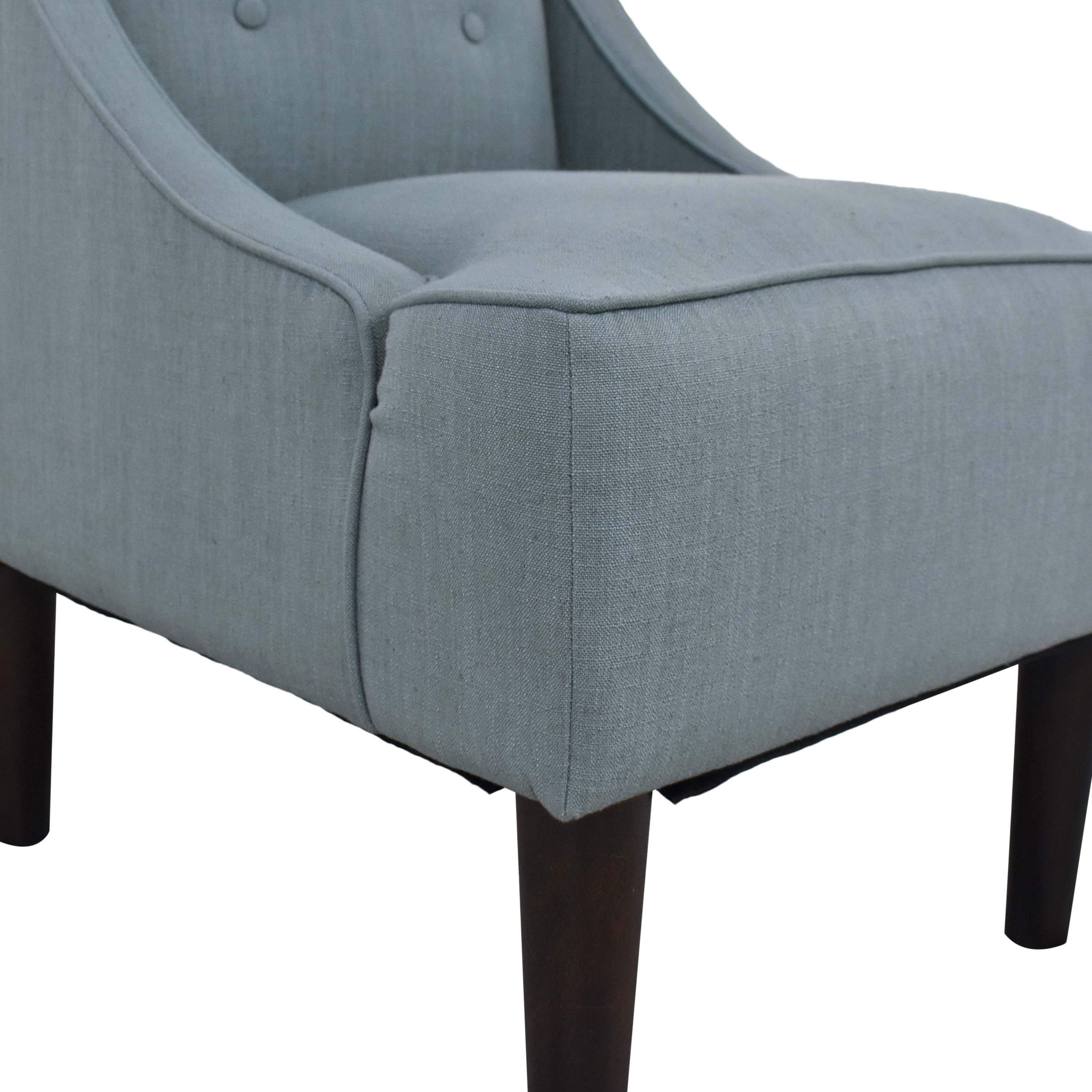 buy Threshold Swoop Arm Chair Threshold Accent Chairs