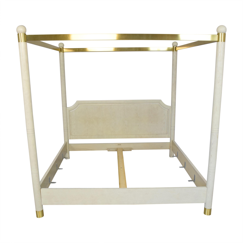 Henredon Furniture Henredon King Canopy Bed on sale
