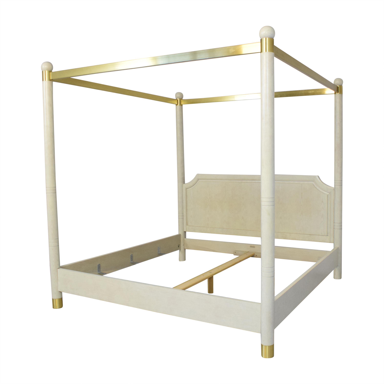 shop Henredon King Canopy Bed Henredon Furniture Bed Frames