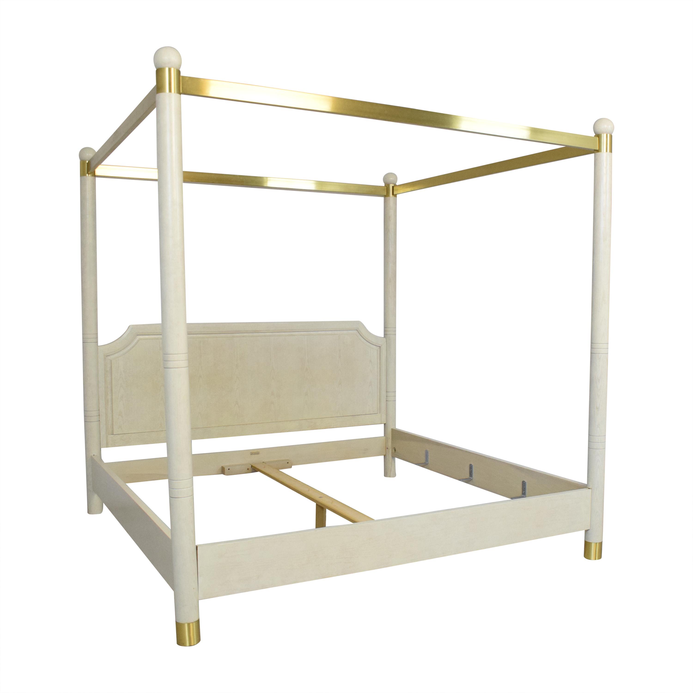 Henredon Furniture Henredon King Canopy Bed ct