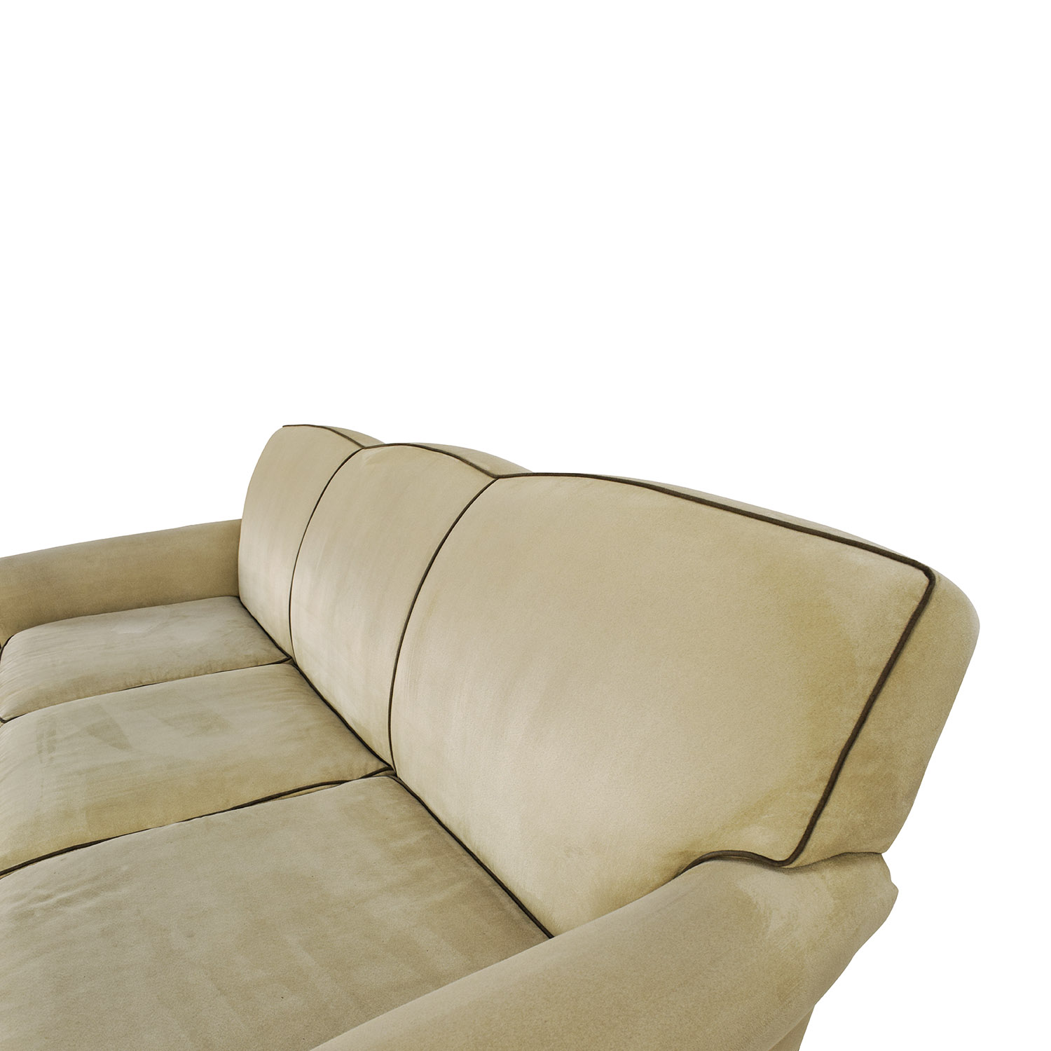 UHURU FURNITURE COLLECTIBLES SOLD Microsuede Sofa With