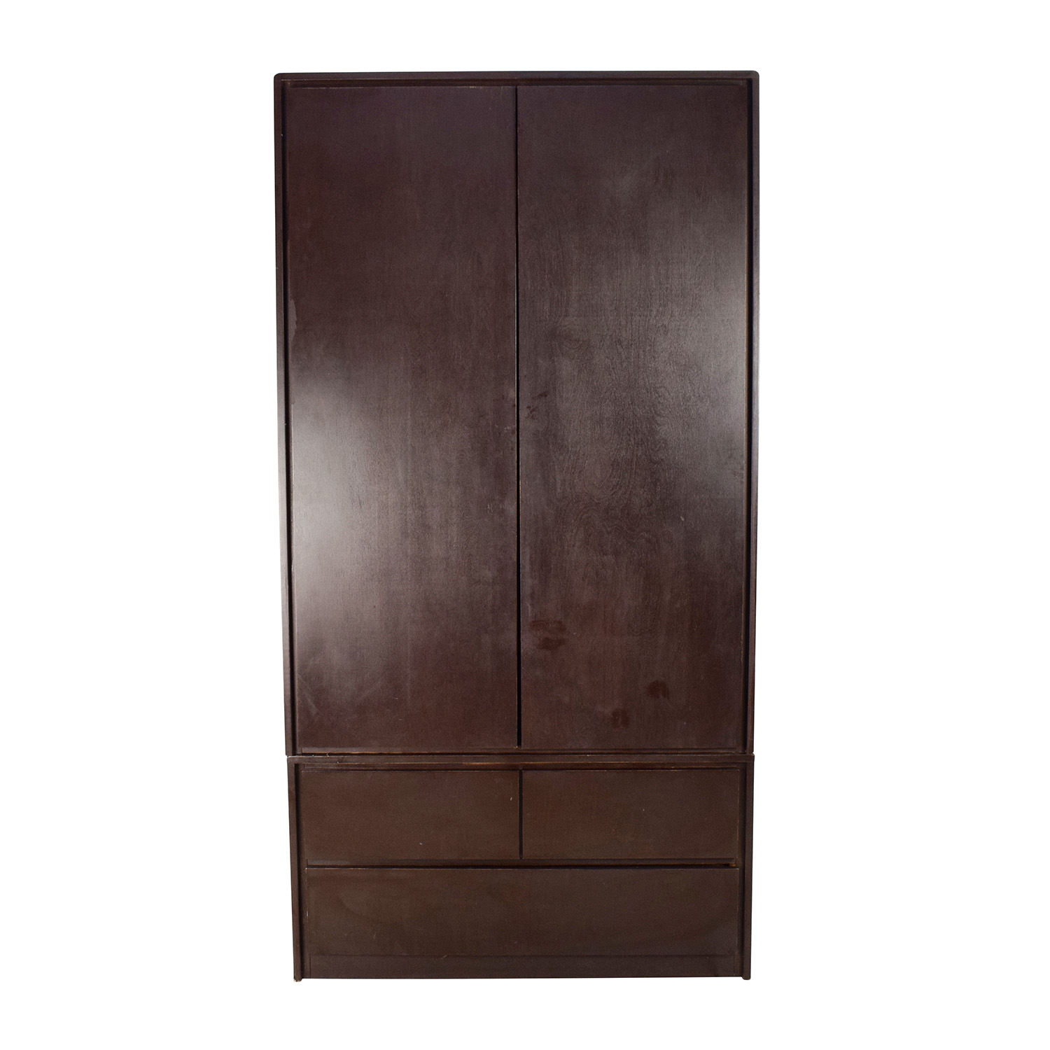 Gothic Cabinet Craft Large Dark Wood Armoire / Wardrobes U0026 Armoires ...