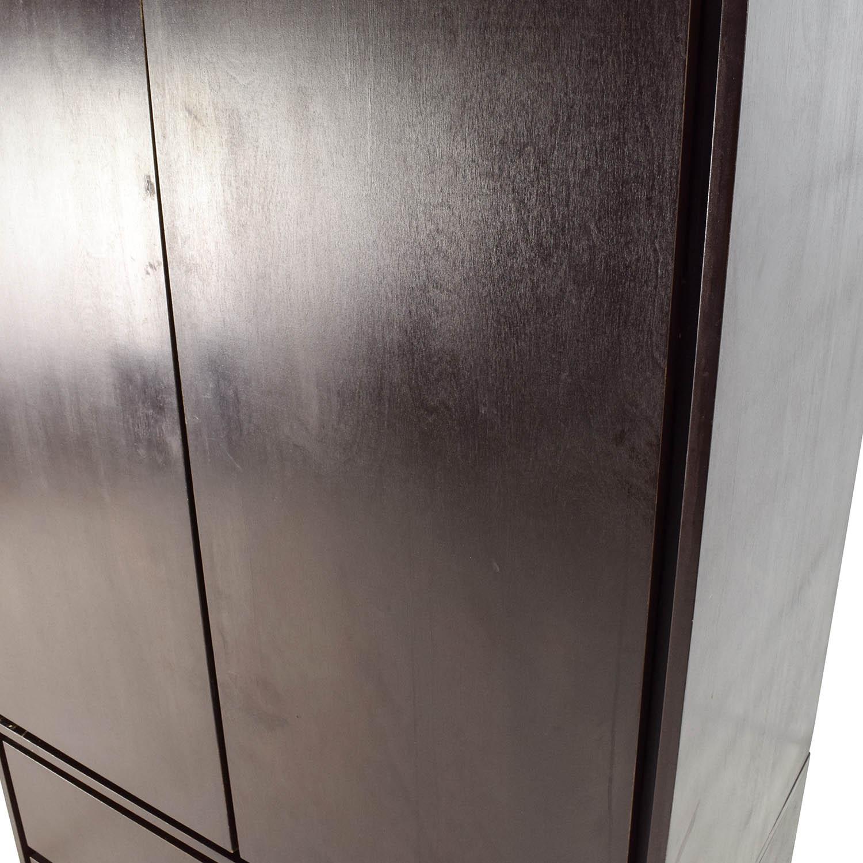 ... Shop Gothic Cabinet Craft Large Dark Wood Armoire Gothic Cabinet Craft  Wardrobes U0026 Armoires ...
