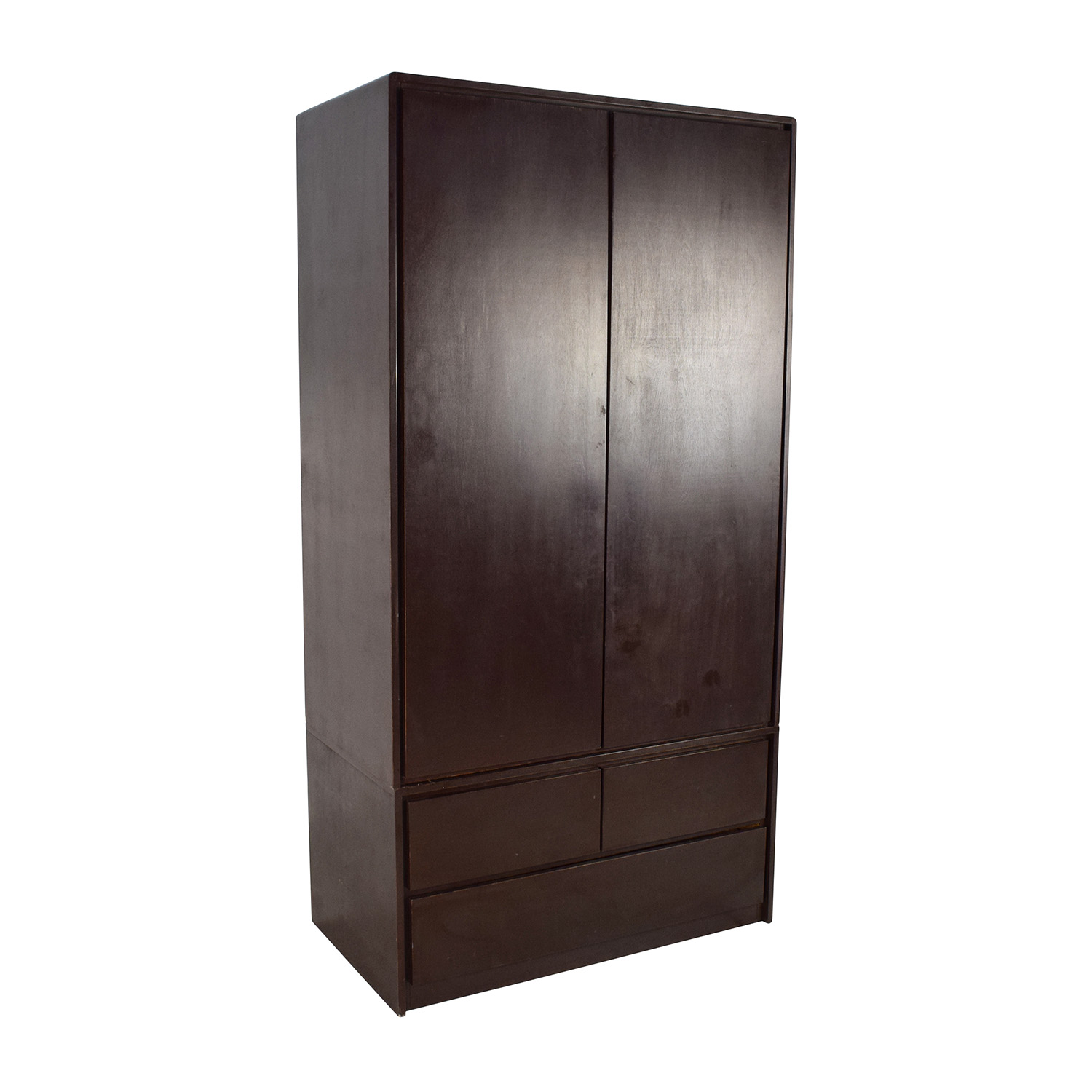 Superieur ... Gothic Cabinet Craft Gothic Cabinet Craft Large Dark Wood Armoire  Wardrobes U0026 Armoires ...