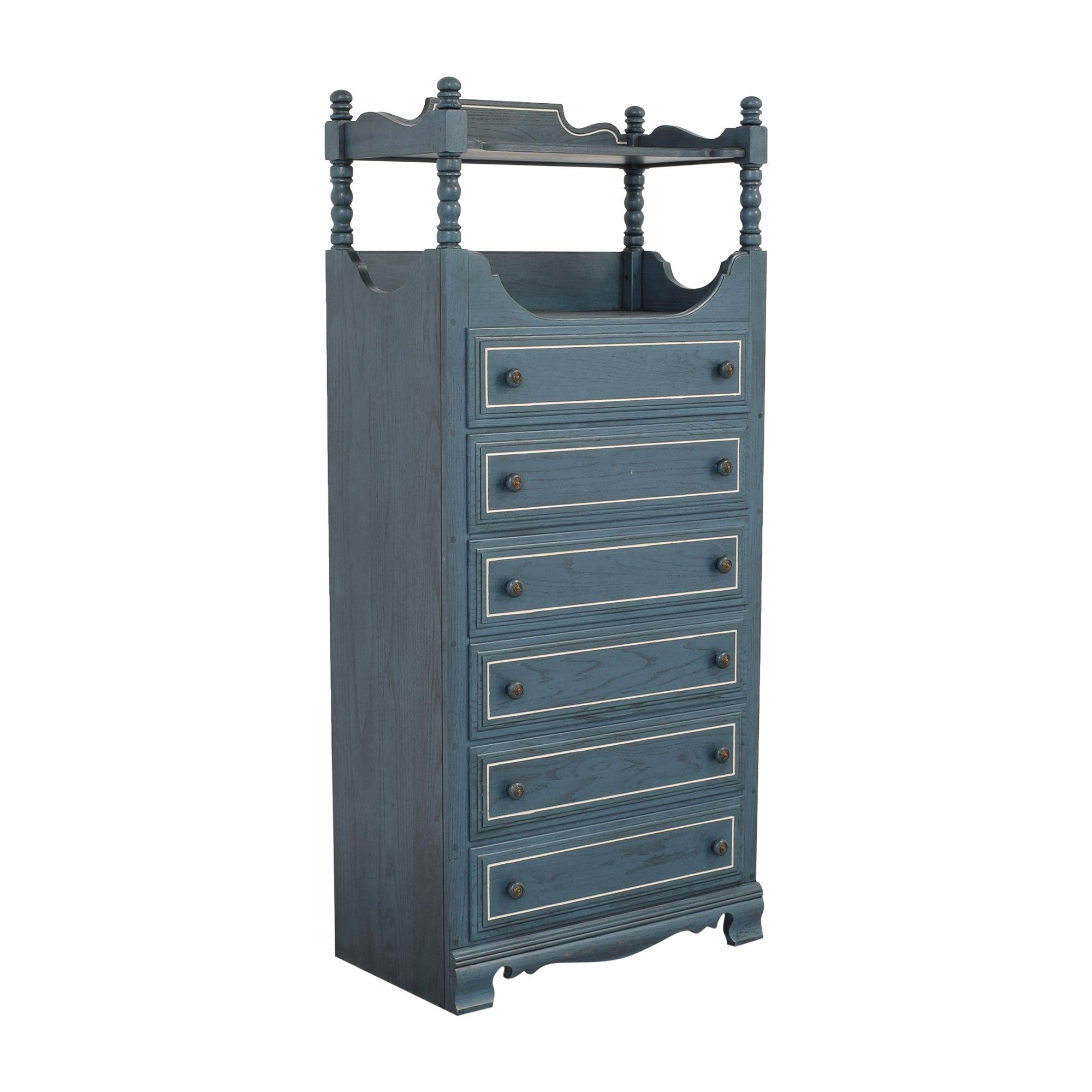 buy Ethan Allen Ethan Allen Six Drawer Dresser with Shelf online