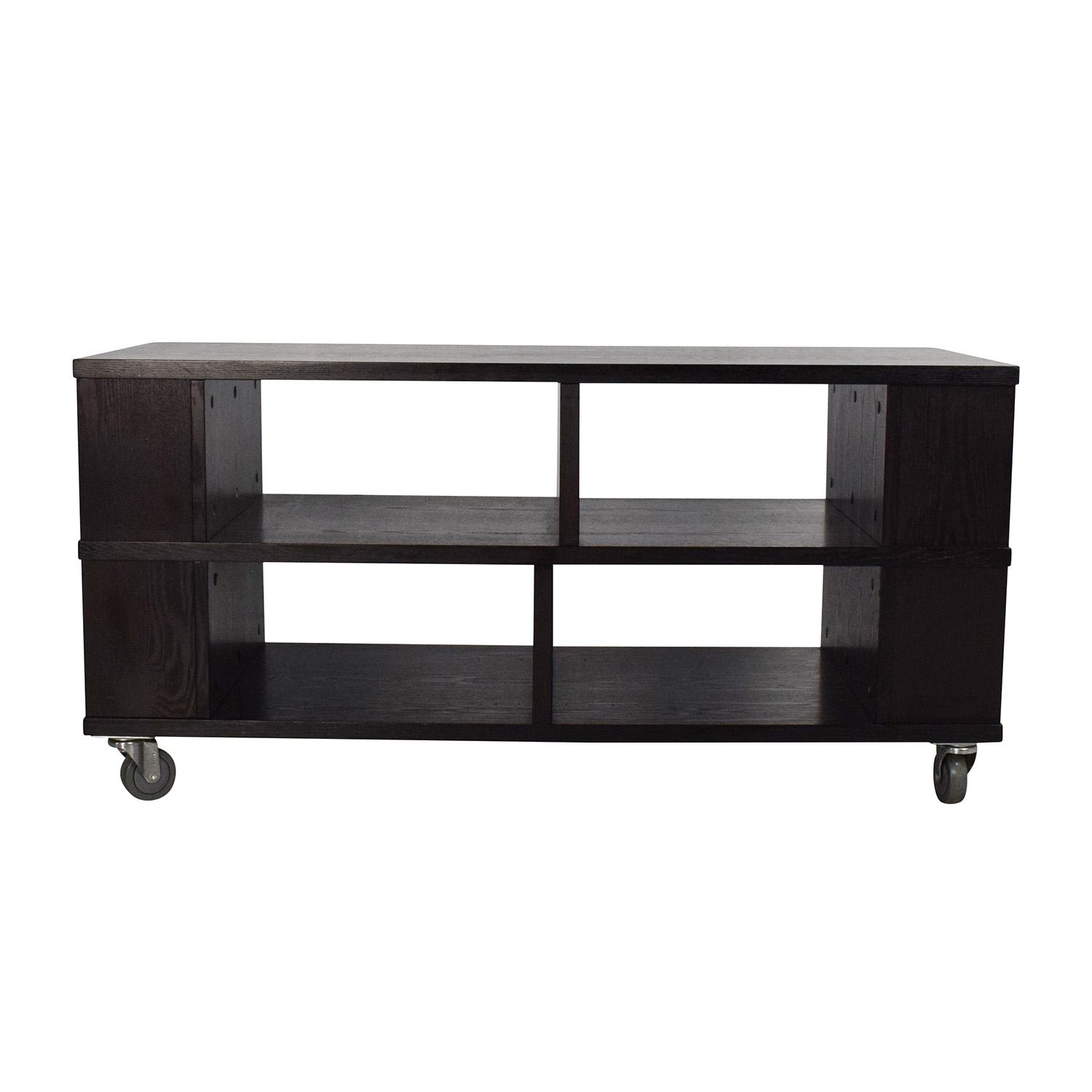 Shop Crate U0026 Barrel Elements Media Cart Console Crate And Barrel ...
