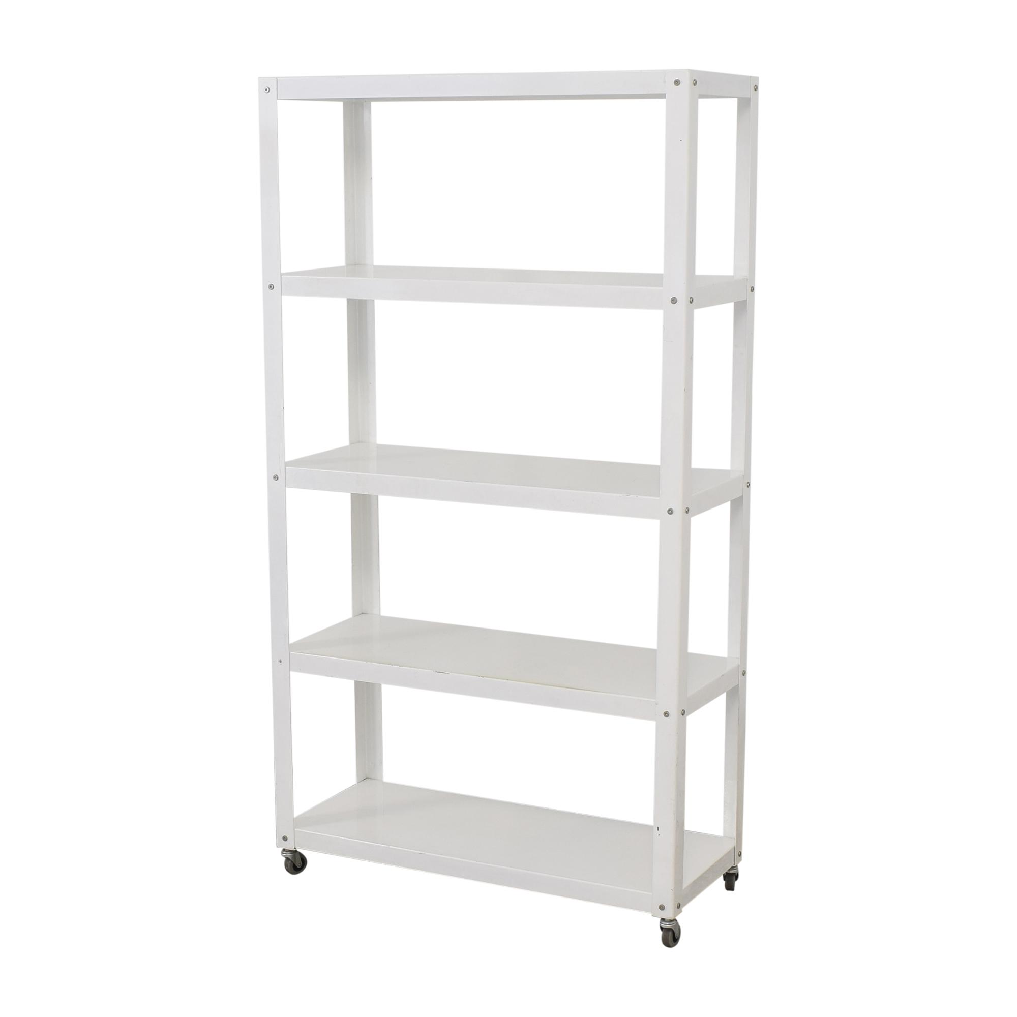 CB2 CB2 Rolling Shelf Unit Storage