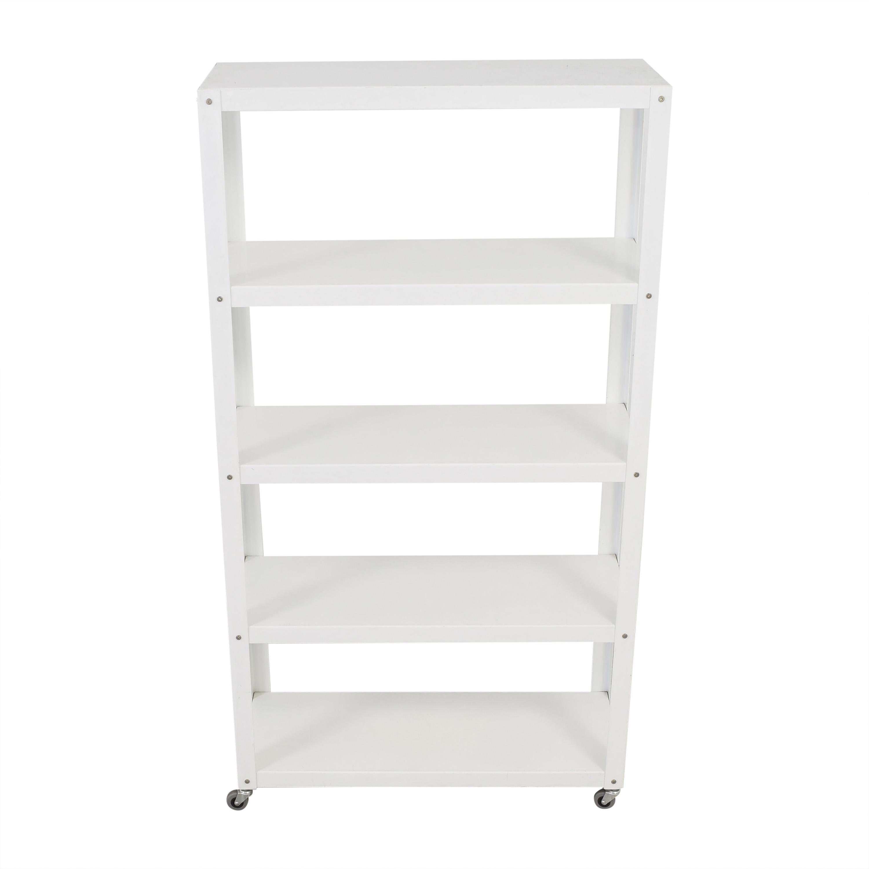 CB2 CB2 Rolling Shelf Unit pa