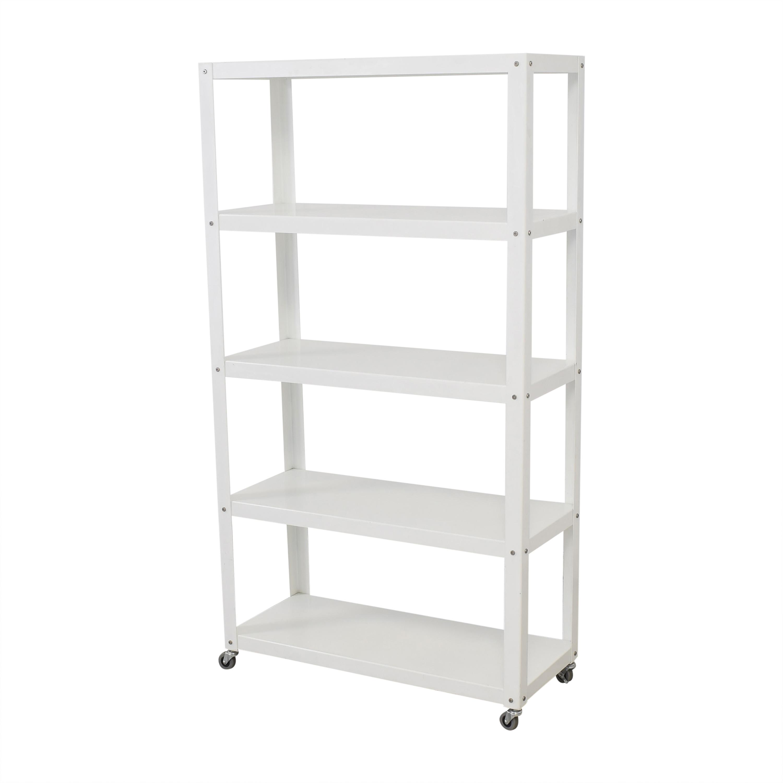 CB2 CB2 Rolling Shelf Unit ma