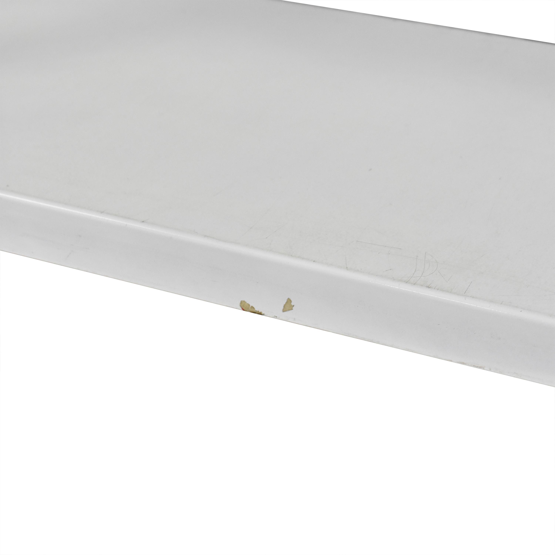 CB2 CB2 Rolling Shelf Unit for sale