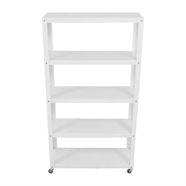 CB2 CB2 Rolling Shelf Unit discount