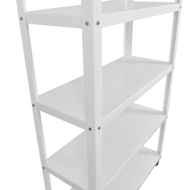 CB2 Rolling Shelf Unit / Bookcases & Shelving