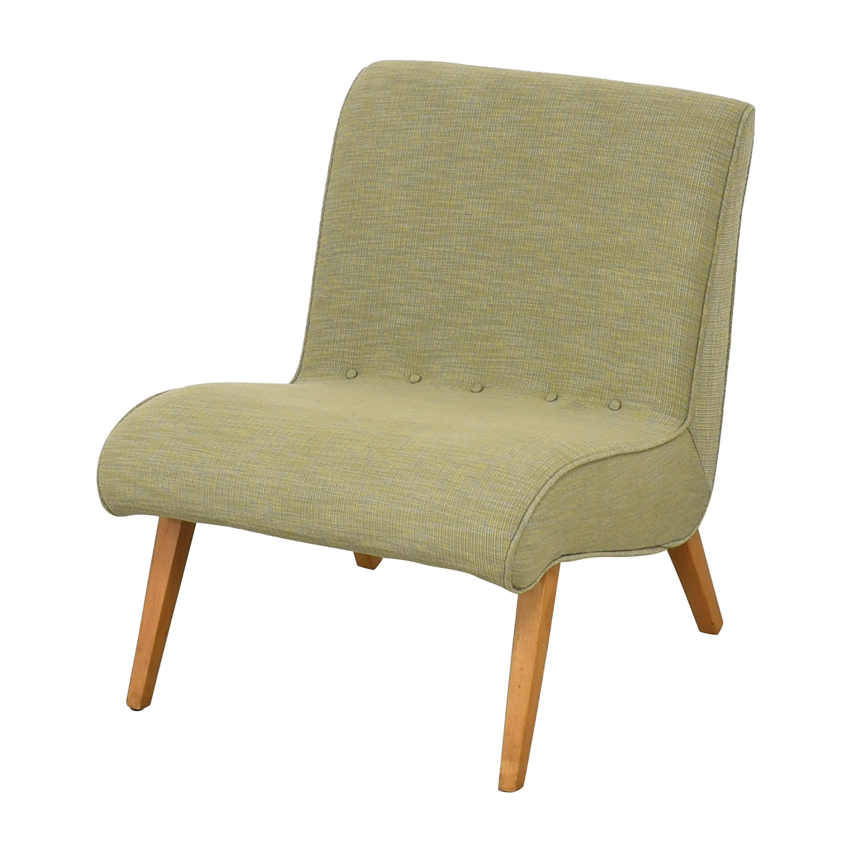 Custom Mid Century Style Slipper Chair nyc