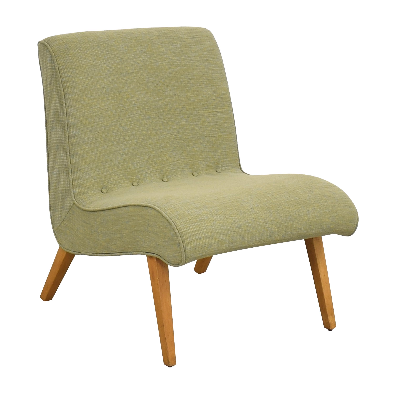 buy  Custom Mid Century Style Slipper Chair online