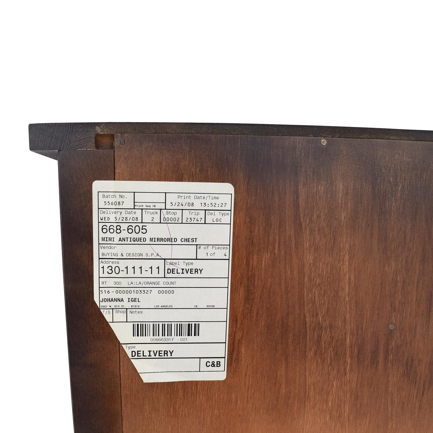 86 Off Buying Design B D Italia Wooden Sideboard With Mirrors