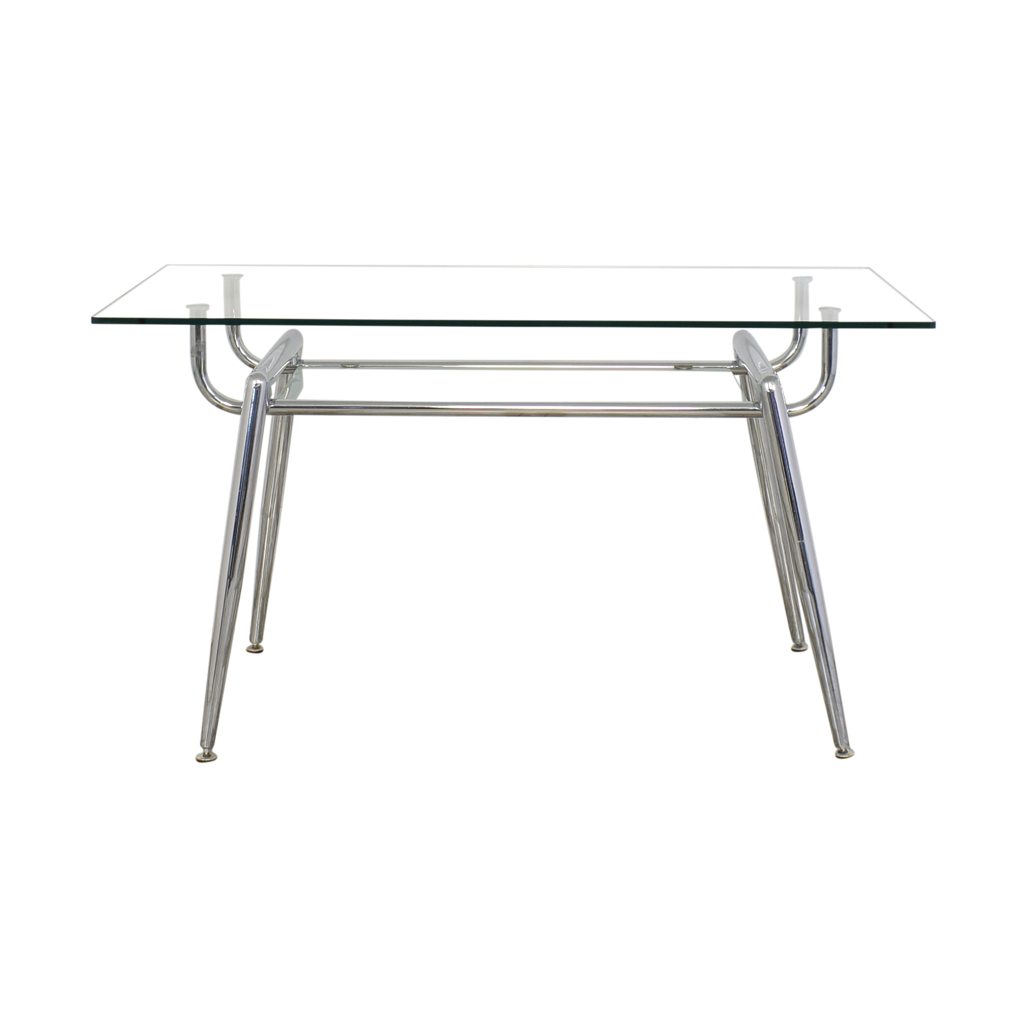 Glass and Chrome Desk ct