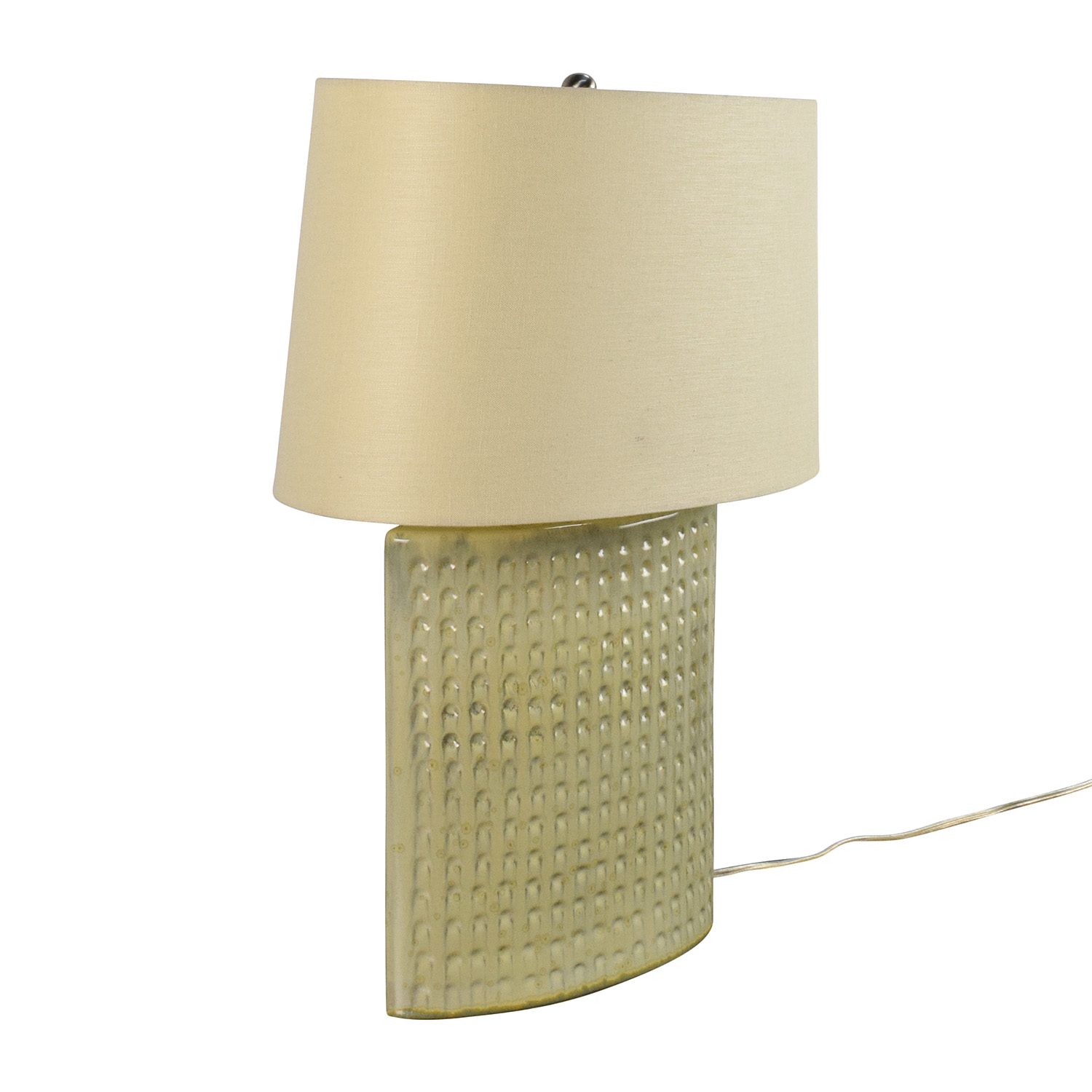 Crate & Barrel Ceramic Tatum Lamp / Lamps