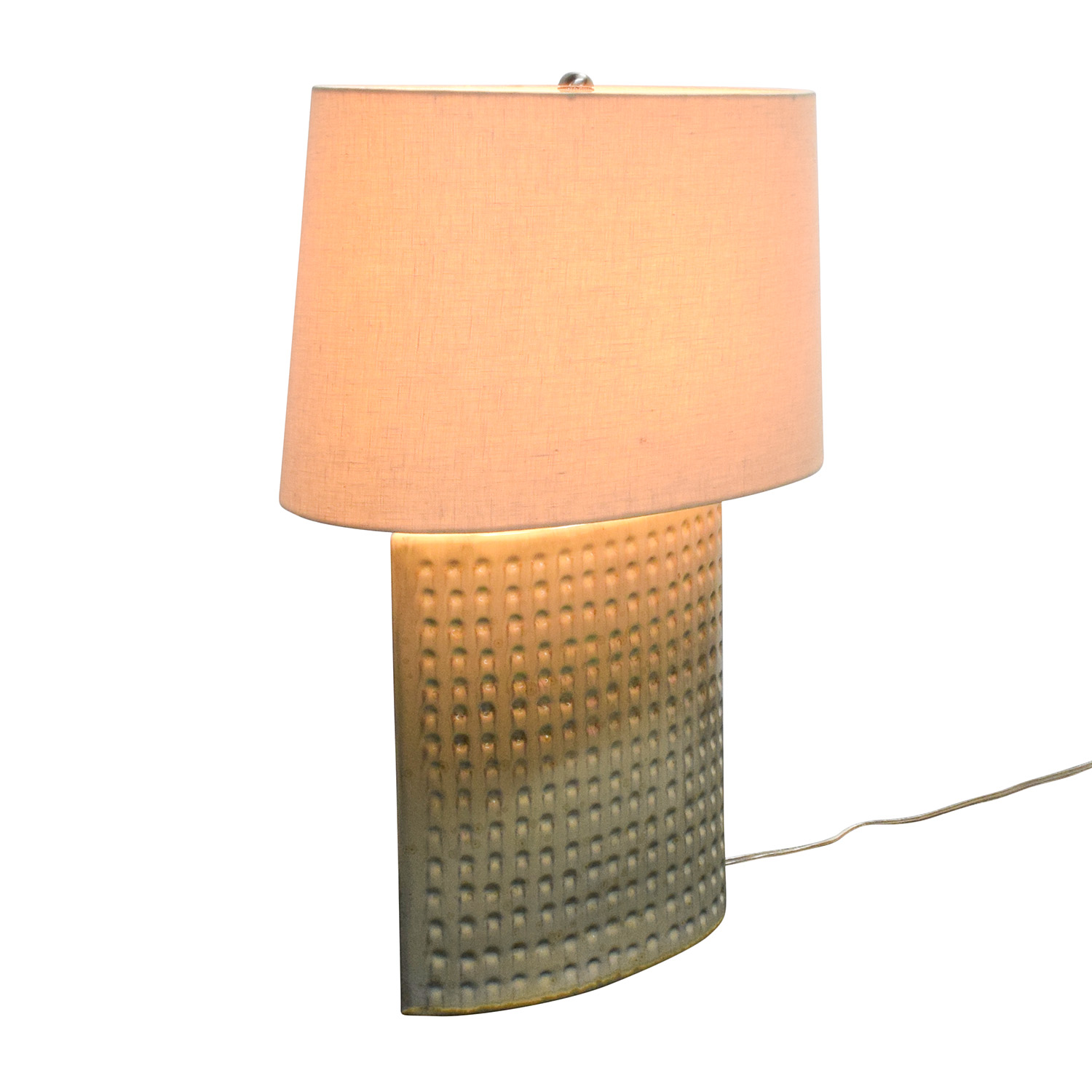 Crate and Barrel Crate & Barrel Ceramic Tatum Lamp nyc