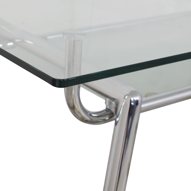 shop Glass and Chrome Desk  Tables