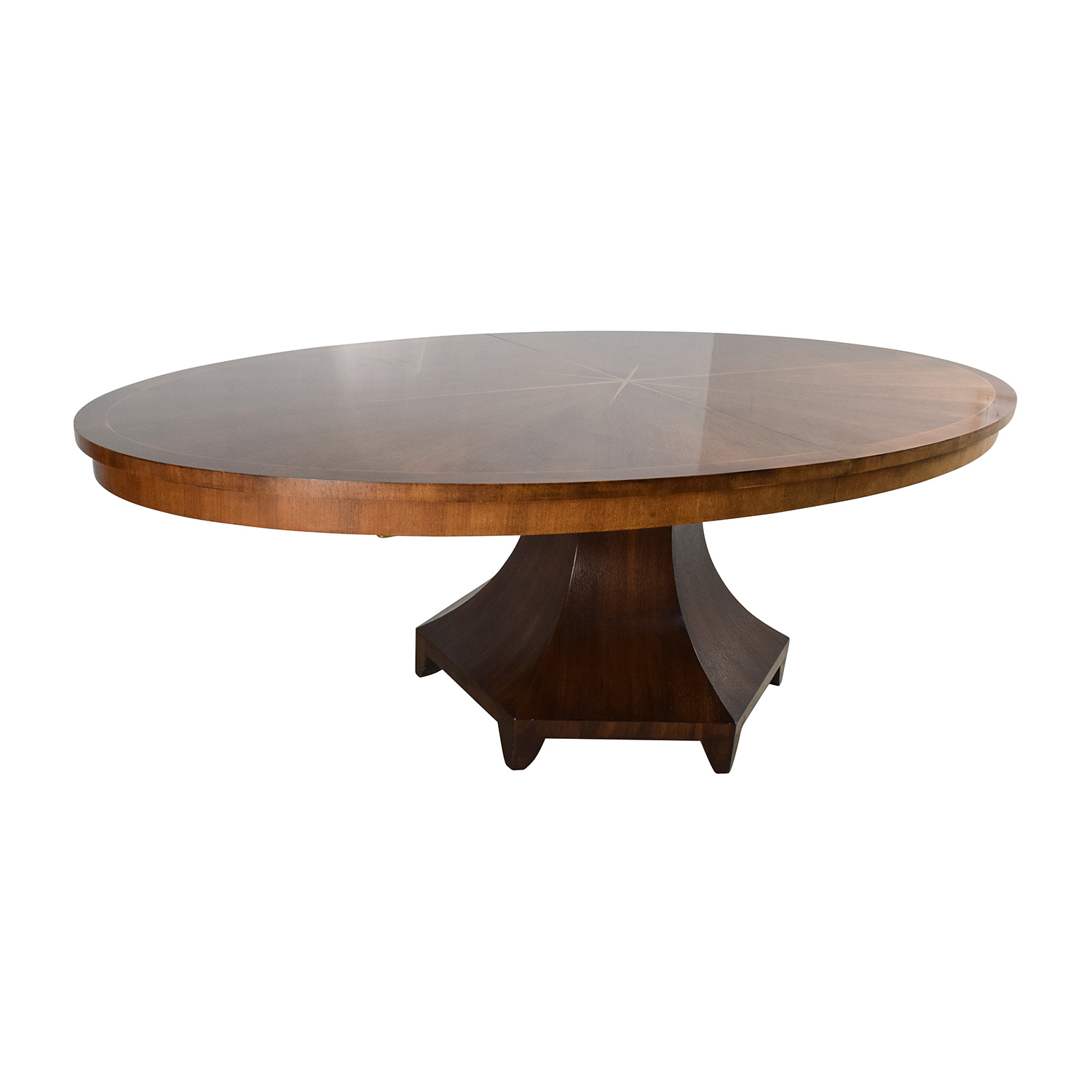 67 off henredon henredon celestial oval table designed by henredon henredon celestial oval table designed by barbara barry tables geotapseo Image collections