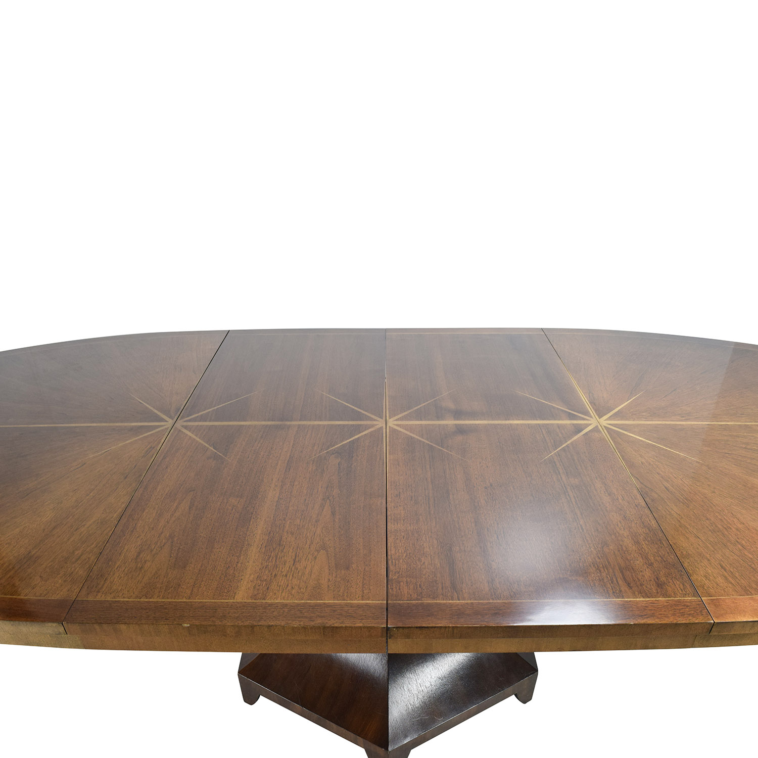 67% OFF Henredon Henredon Celestial Oval Table Designed by