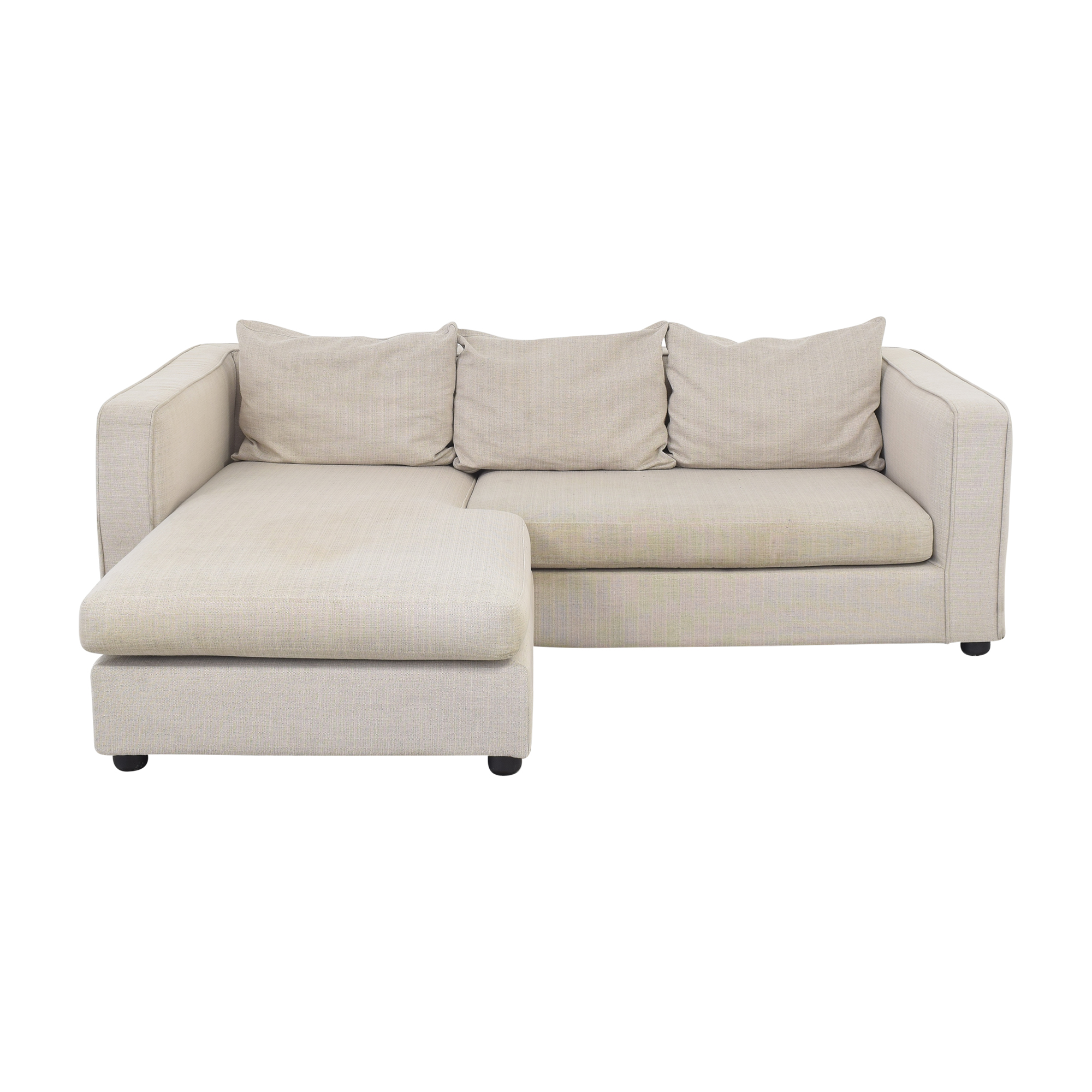 Mobital Mobital Chaise Sectional Sofa pa