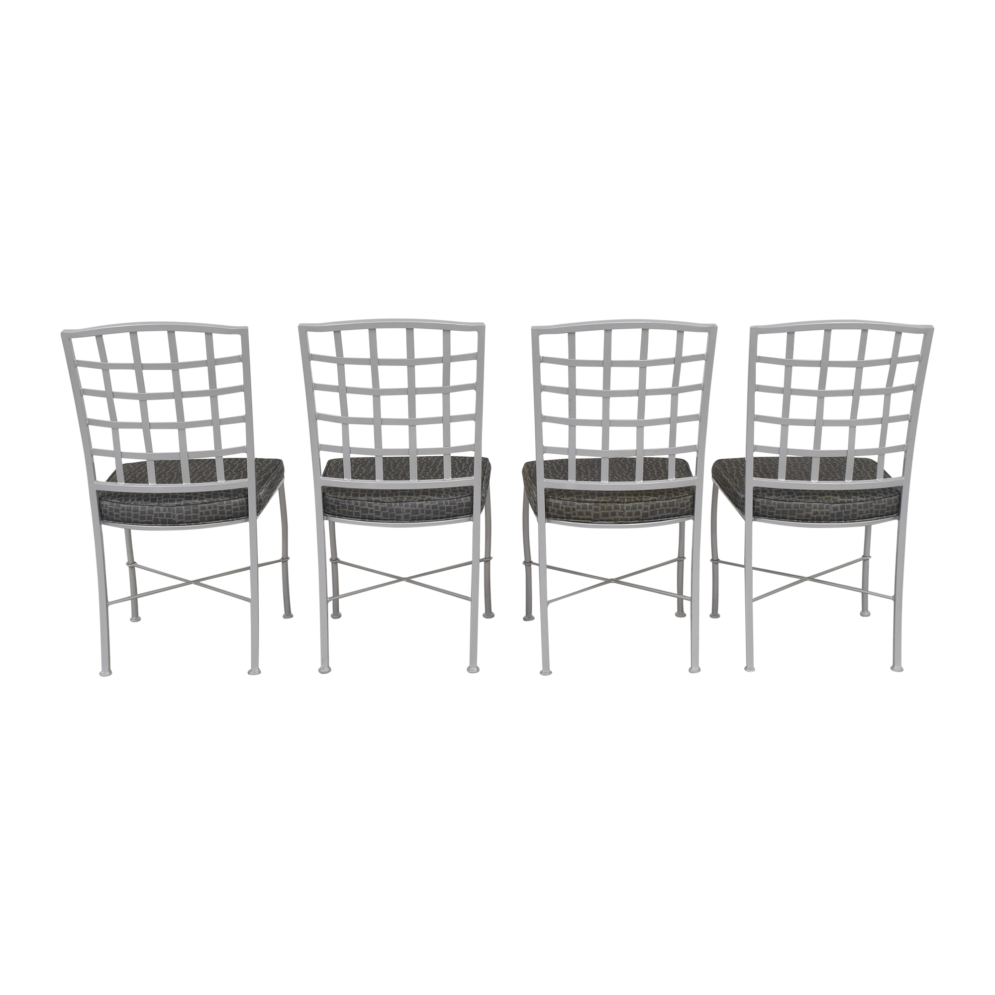 Johnston Casuals Johnston Casuals Lattice Back Dining Chairs pa