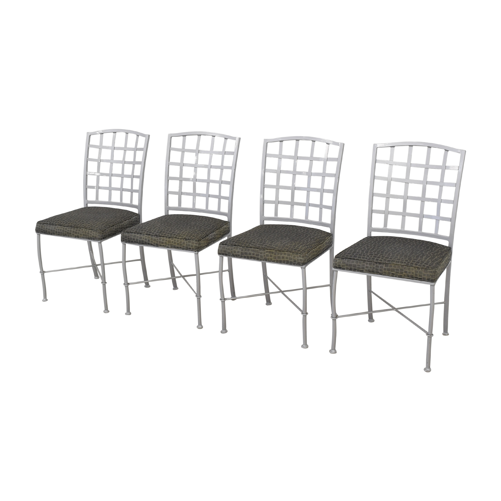Johnston Casuals Johnston Casuals Lattice Back Dining Chairs