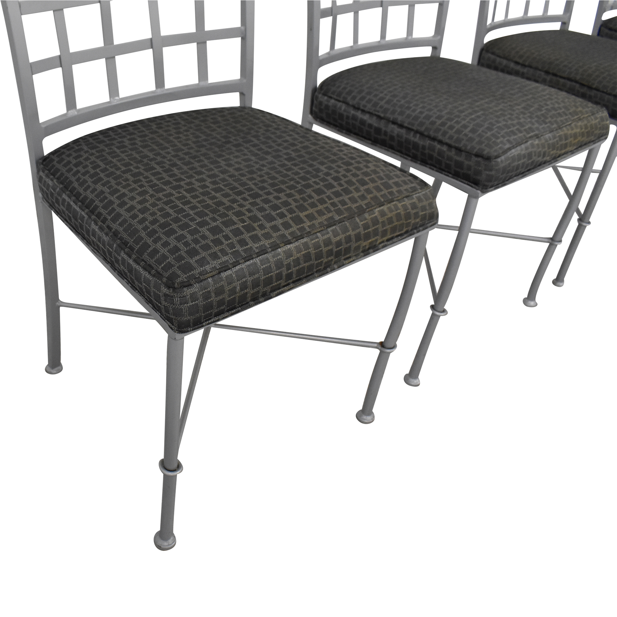 Johnston Casuals Johnston Casuals Lattice Back Dining Chairs Chairs