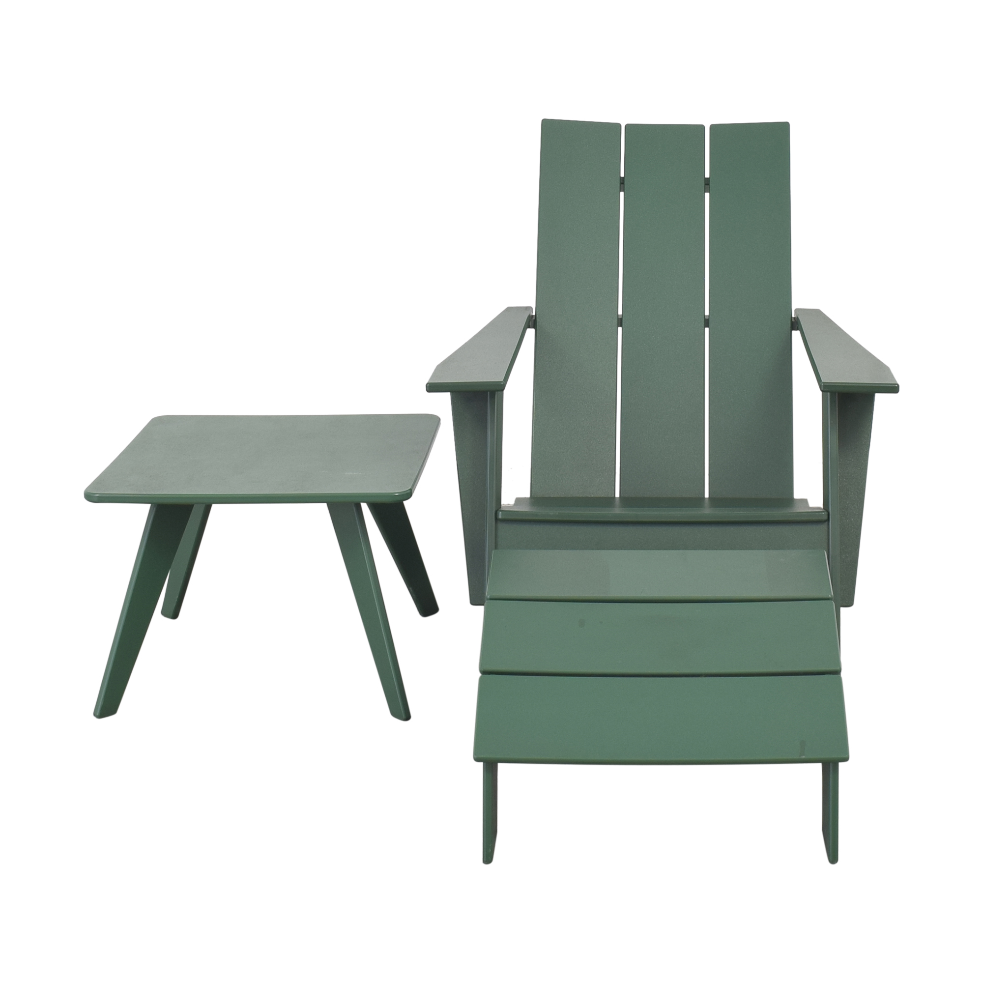 Loll Designs Loll Designs Tall Adirondack Chair with Ottoman and Side Table price