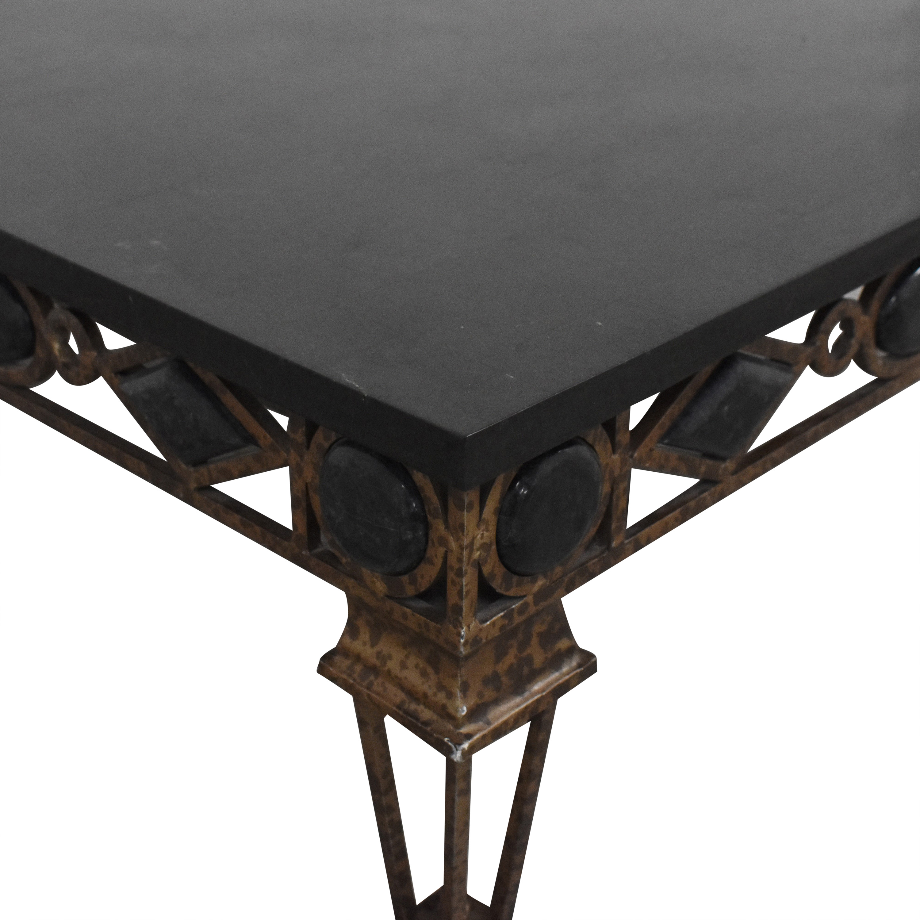 buy Ethan Allen Decorative Square Cocktail Table Ethan Allen Coffee Tables